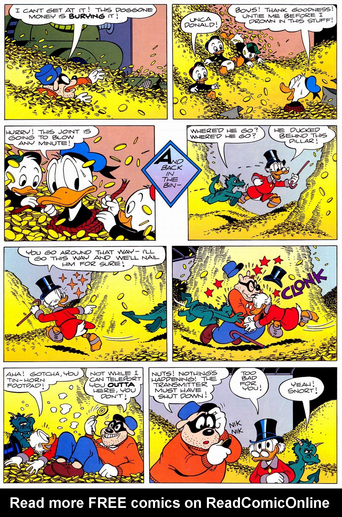Read online Uncle Scrooge (1953) comic -  Issue #320 - 16