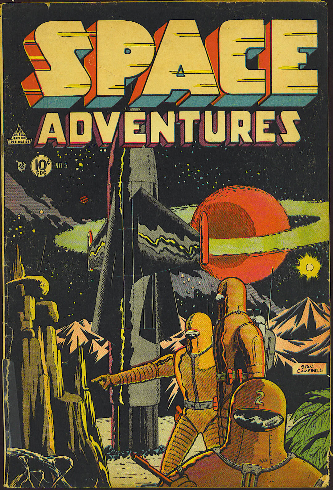 Space Adventures (1952) issue 5 - Page 1