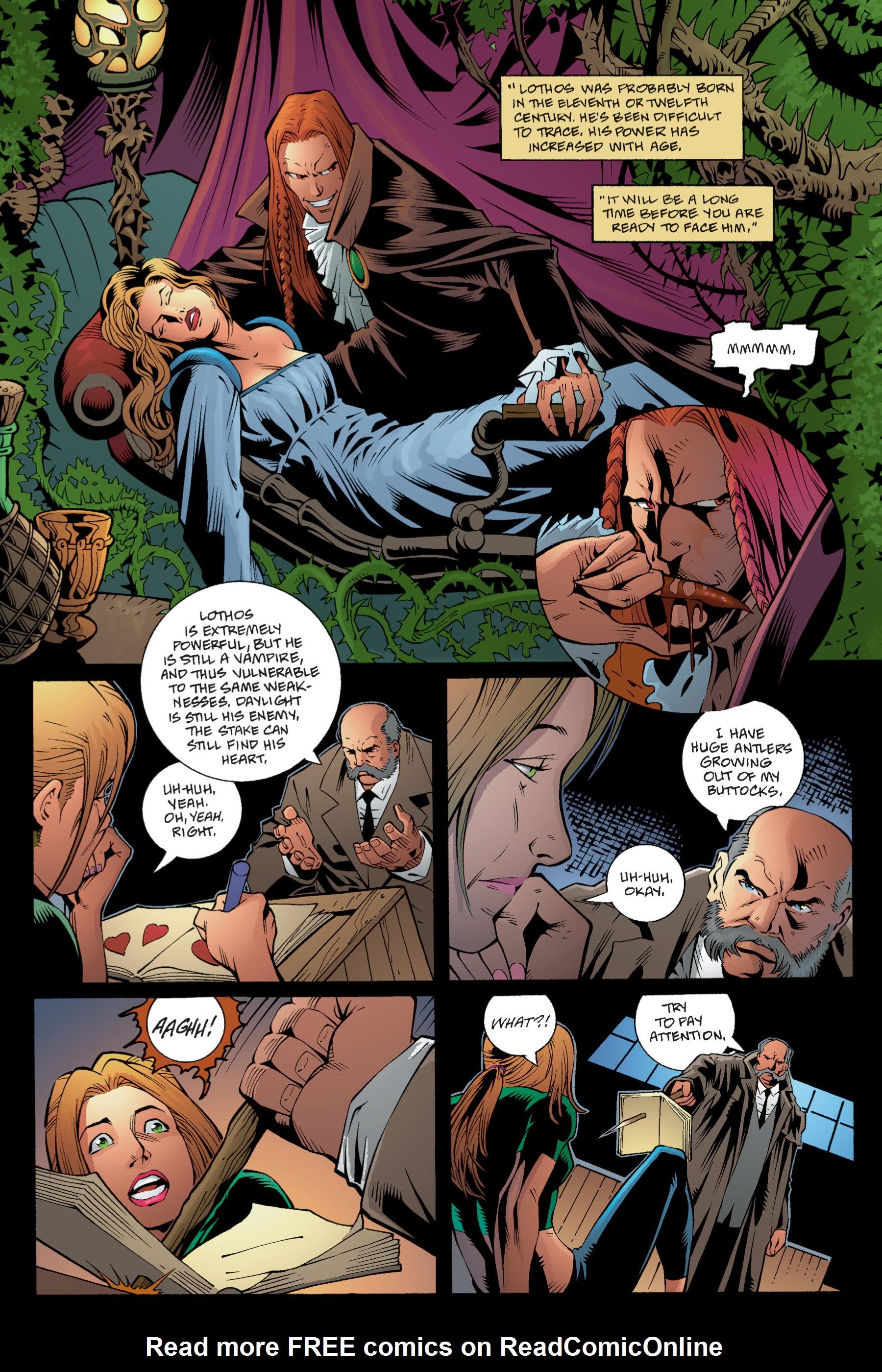 Read online Buffy the Vampire Slayer: Omnibus comic -  Issue # TPB 1 - 64