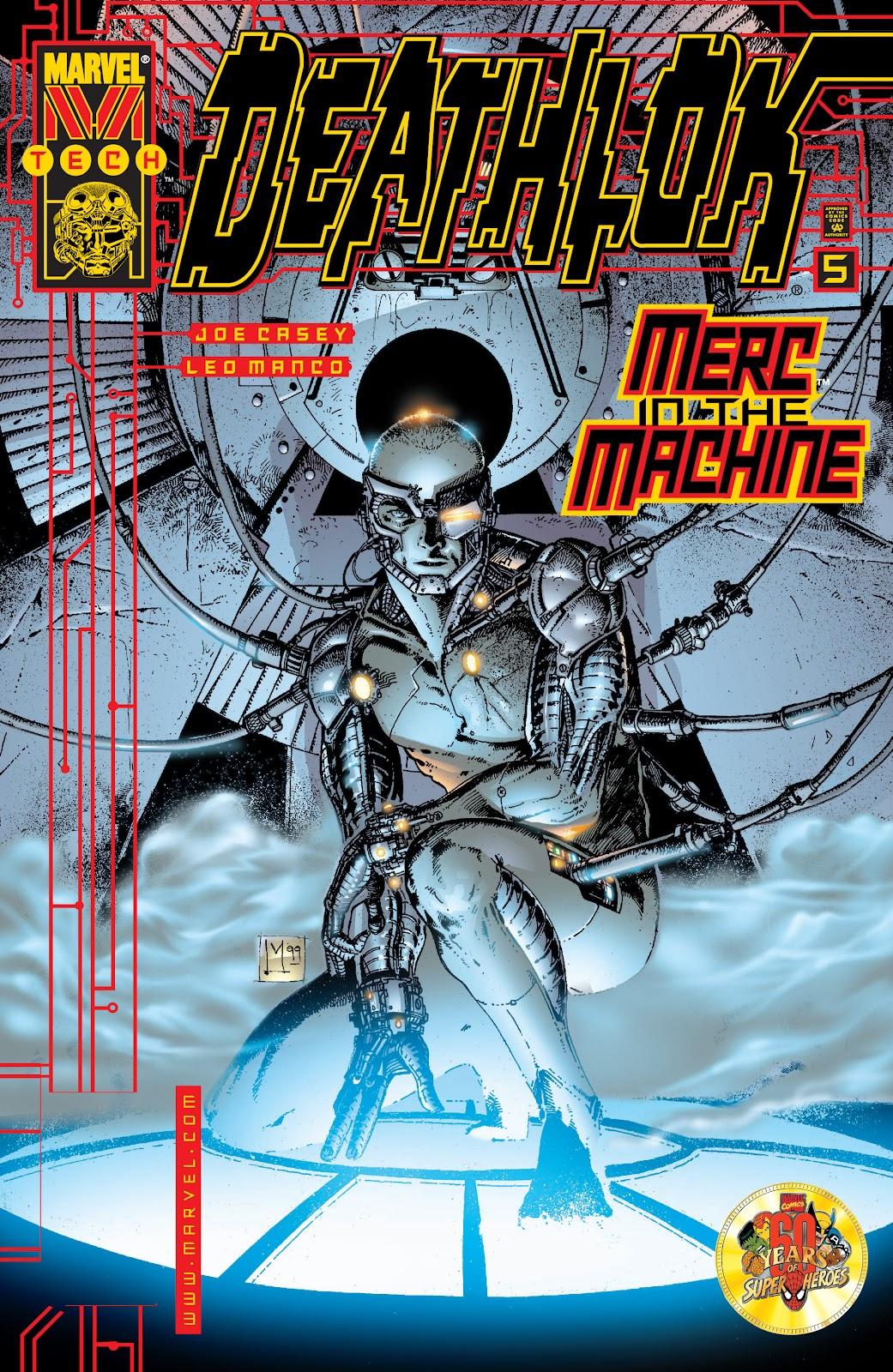 Deathlok (1999) issue 5 - Page 1