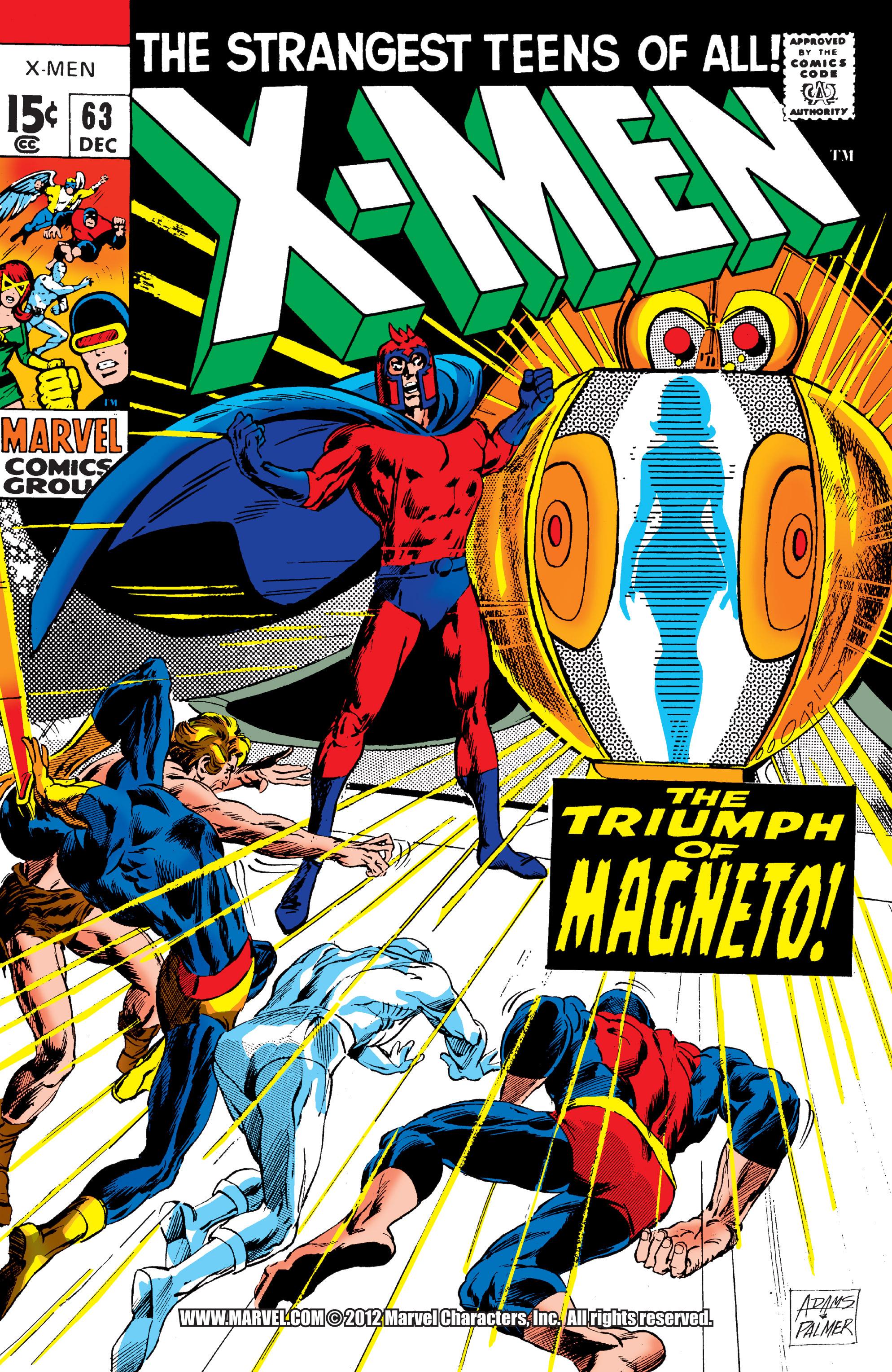 Uncanny X-Men (1963) 63 Page 1