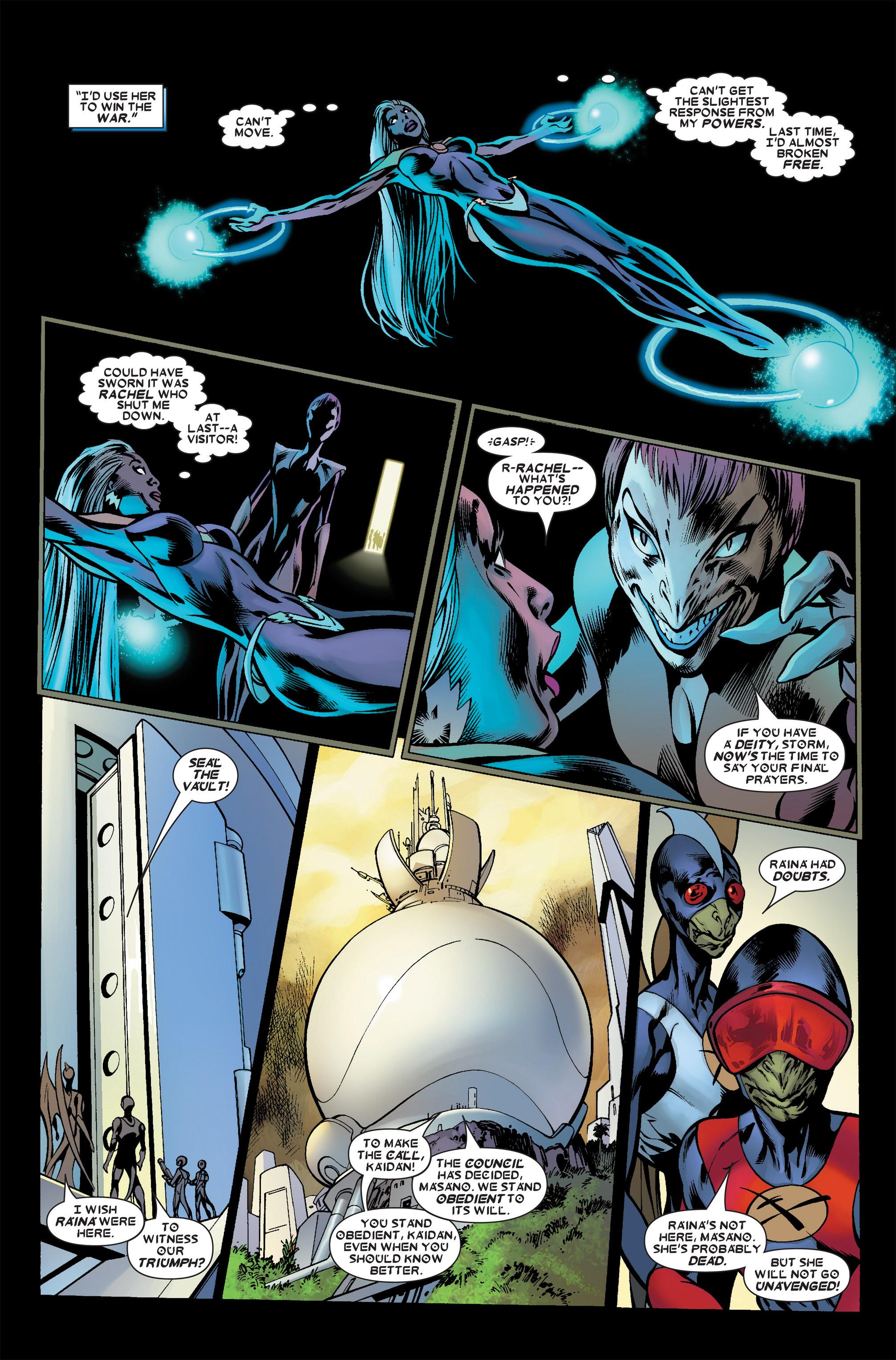 Read online Uncanny X-Men (1963) comic -  Issue #458 - 21