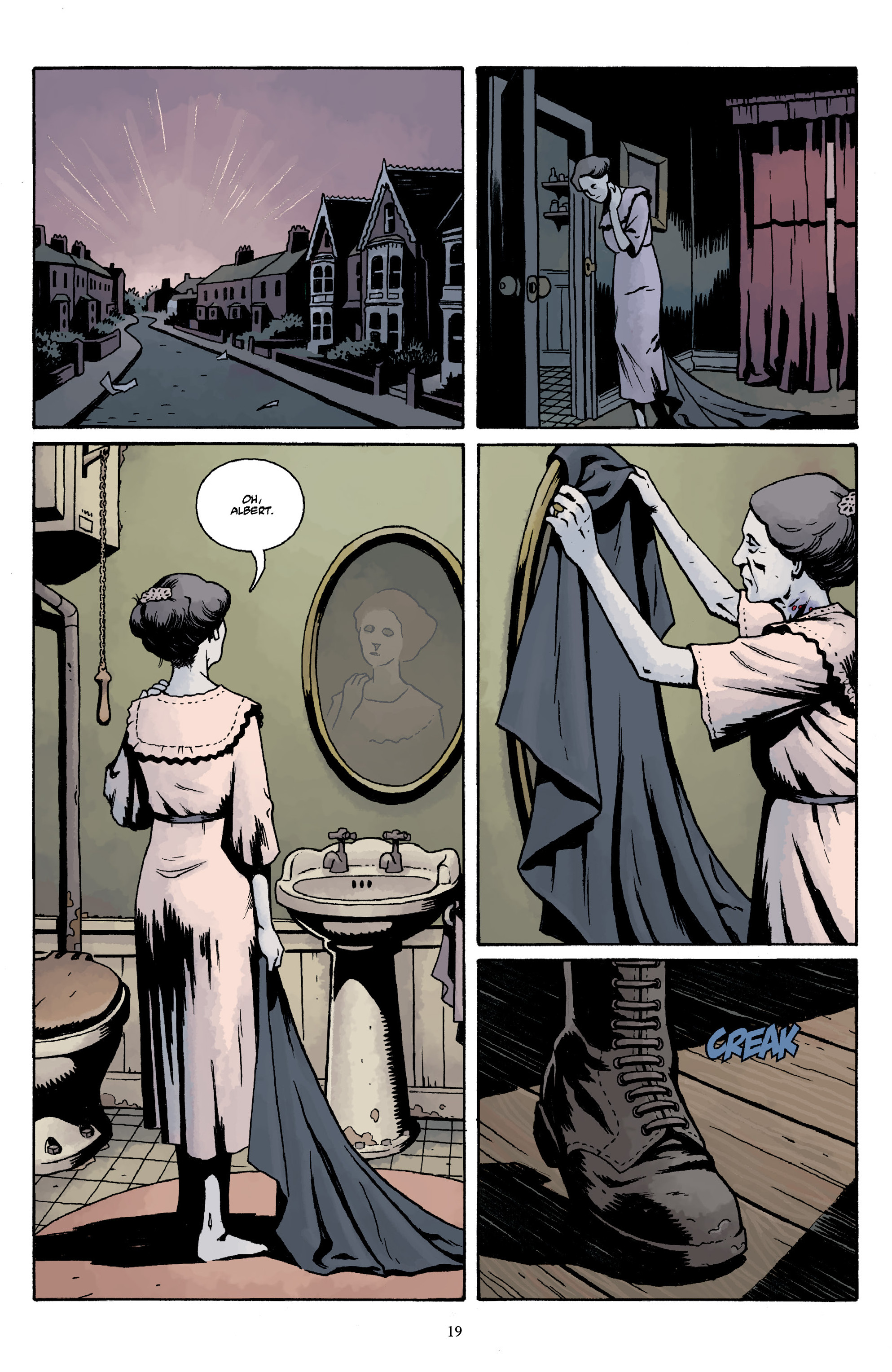 Read online Baltimore Volume 3: A Passing Stranger and Other Stories comic -  Issue # Full - 21