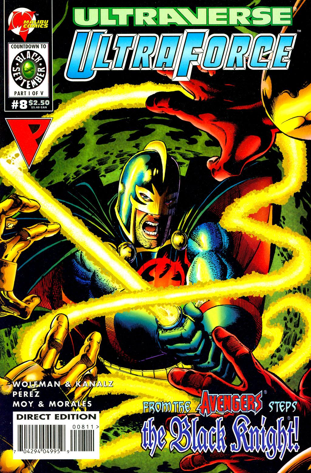 Read online UltraForce (1994) comic -  Issue #8 - 1