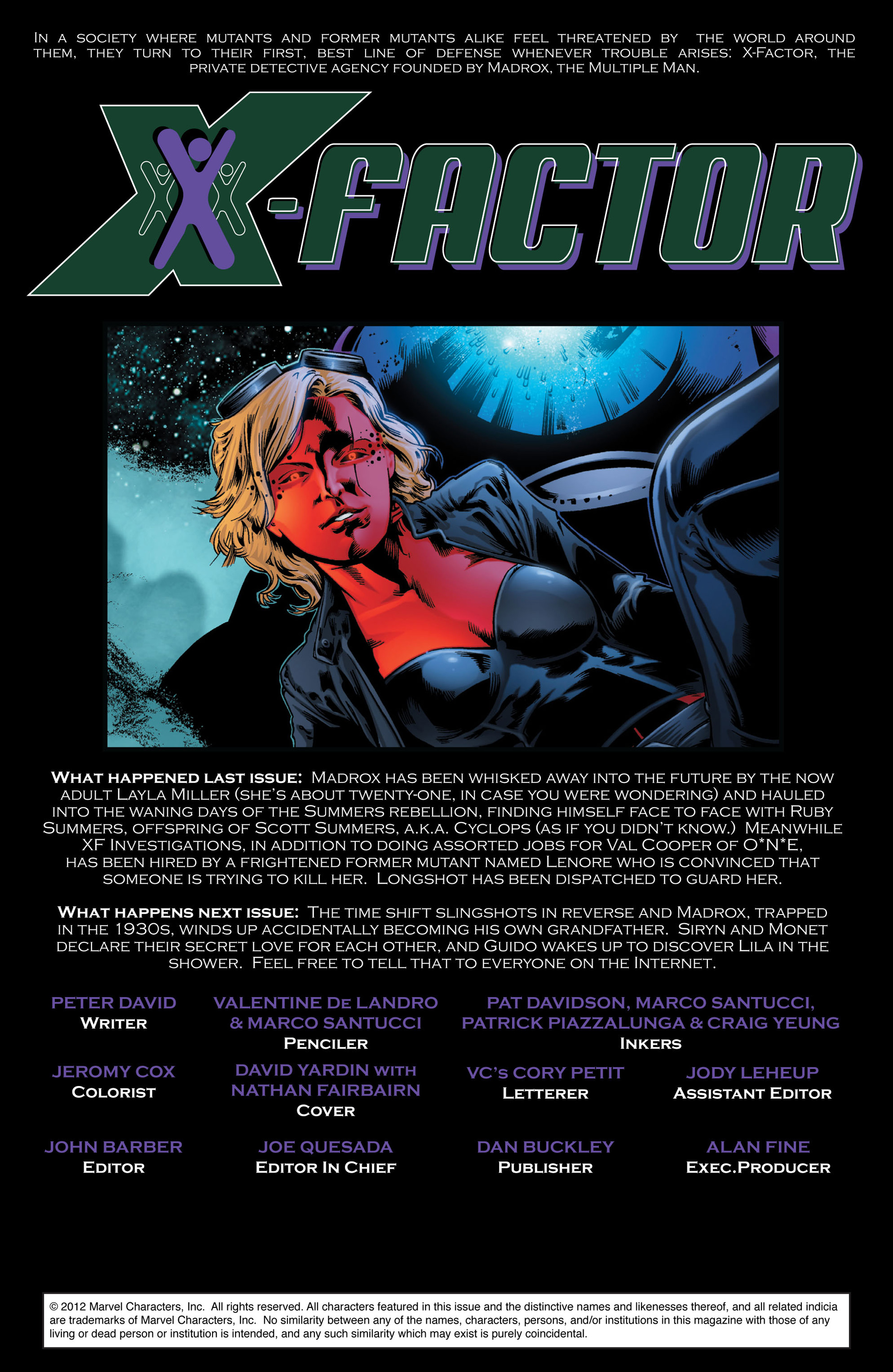 Read online X-Factor (2006) comic -  Issue #42 - 2