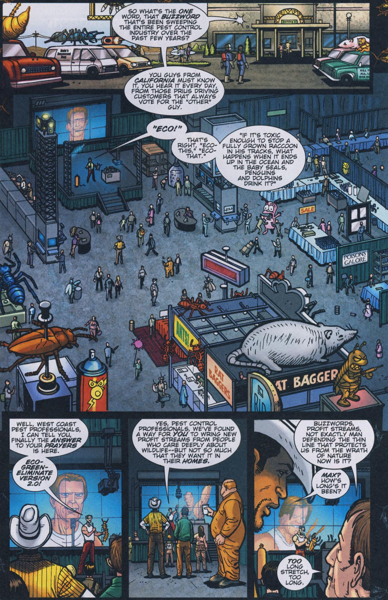 Read online The Exterminators comic -  Issue #17 - 4