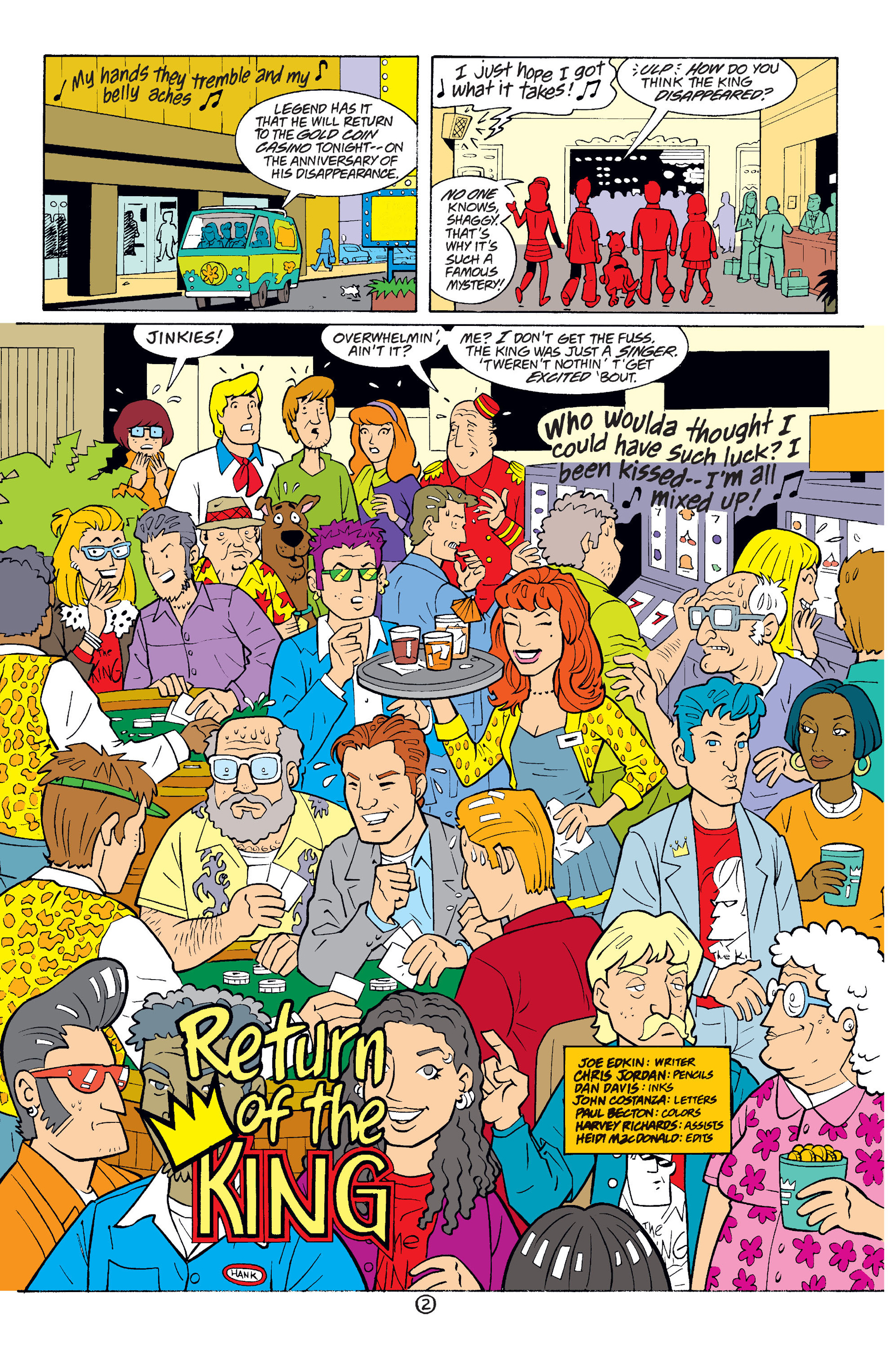 Read online Scooby-Doo (1997) comic -  Issue #34 - 15