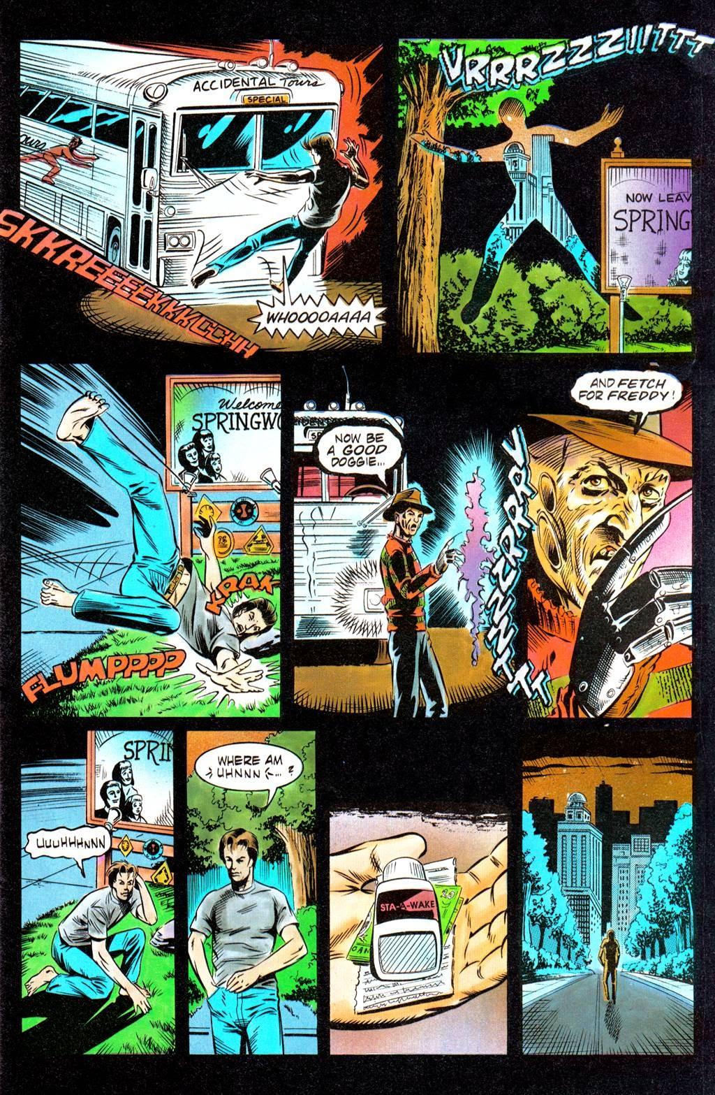 Read online Freddy's Dead: The Final Nightmare comic -  Issue #1 - 9