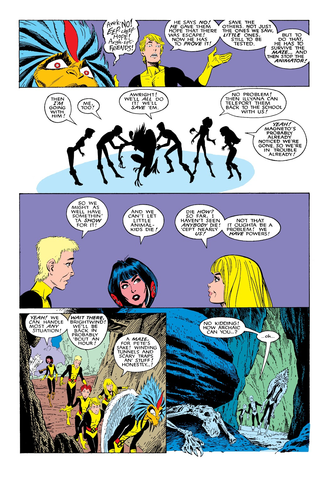 Read online X-Men Milestones: Fall of the Mutants comic -  Issue # TPB (Part 2) - 4