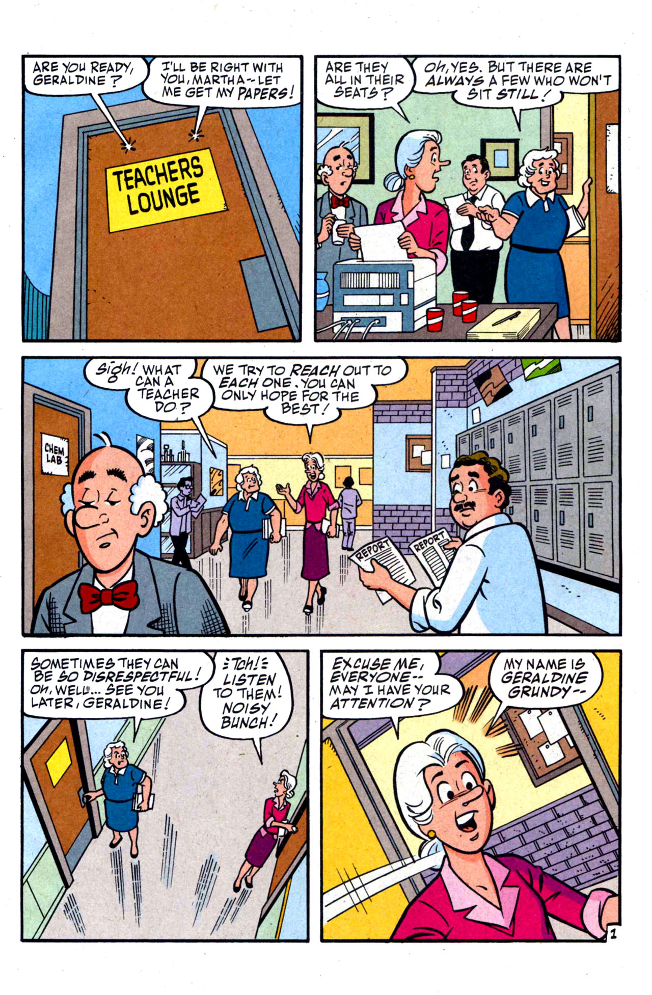 Read online Archie (1960) comic -  Issue #590 - 3