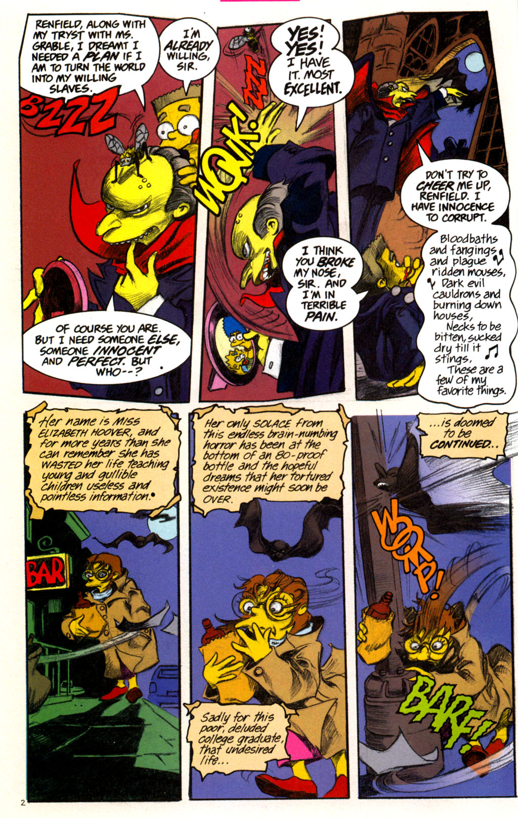 Read online Treehouse of Horror comic -  Issue #11 - 5