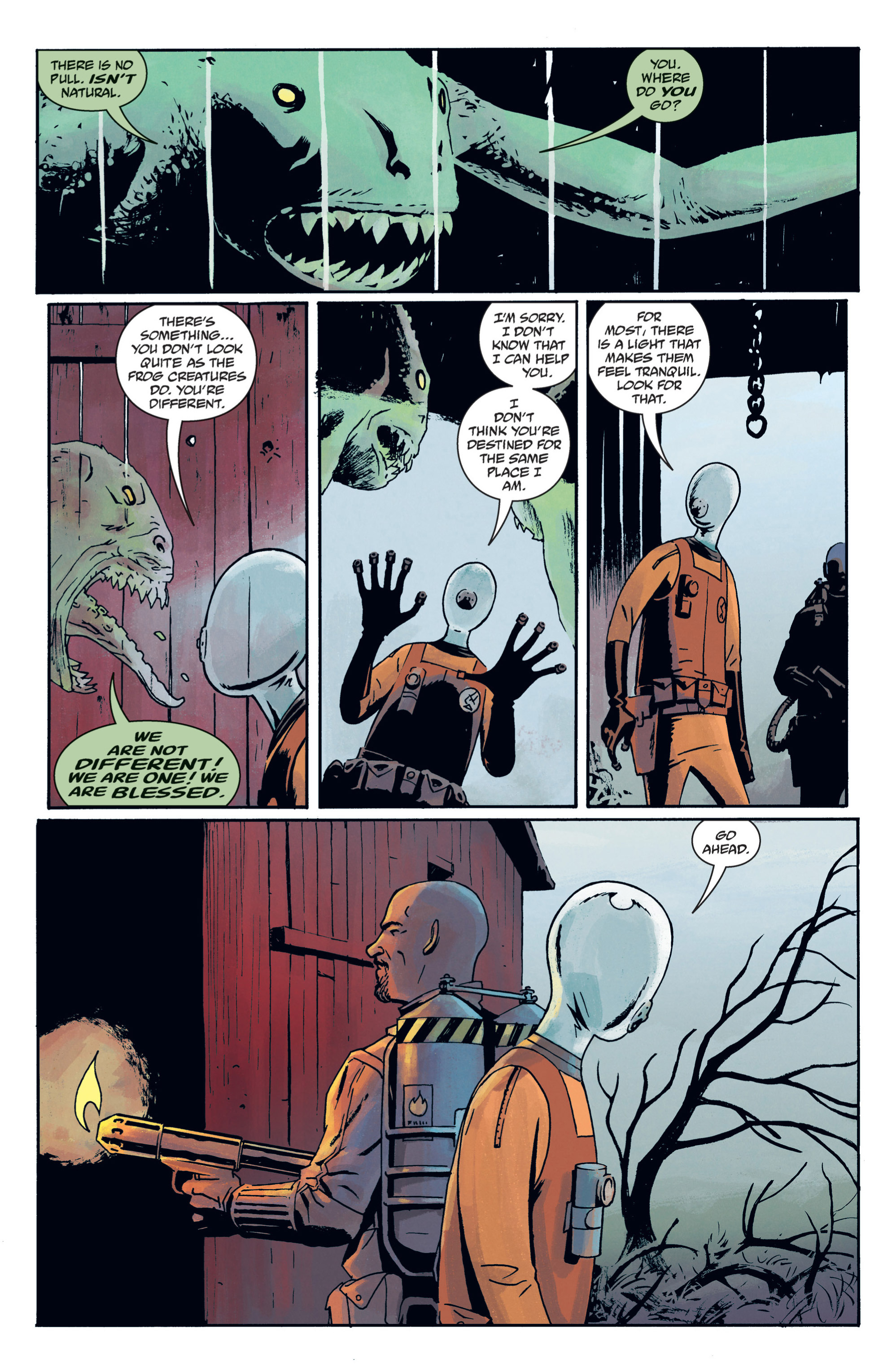 Read online B.P.R.D. (2003) comic -  Issue # TPB 12 - 91