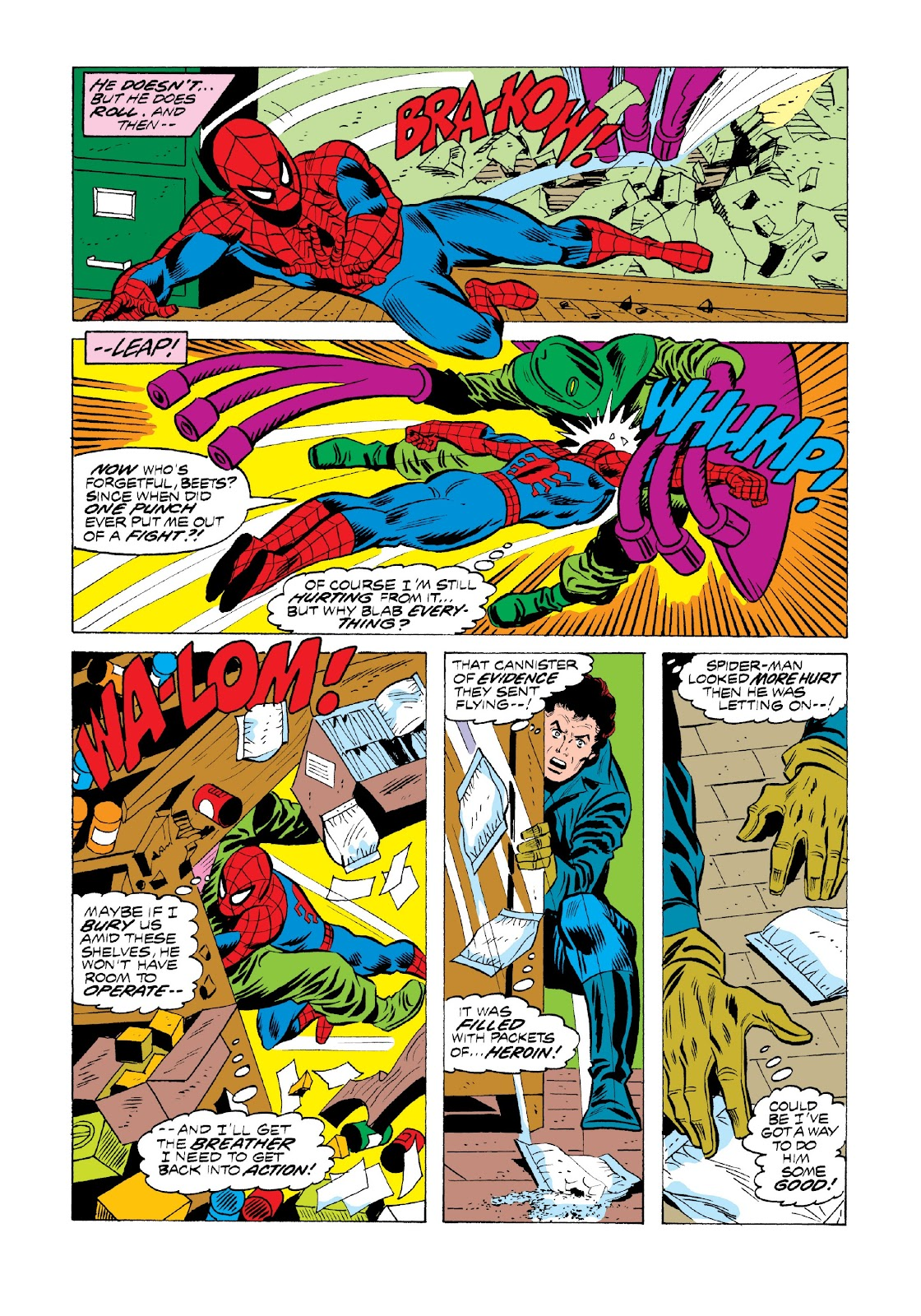Read online Marvel Masterworks: The Spectacular Spider-Man comic -  Issue # TPB 2 (Part 1) - 22