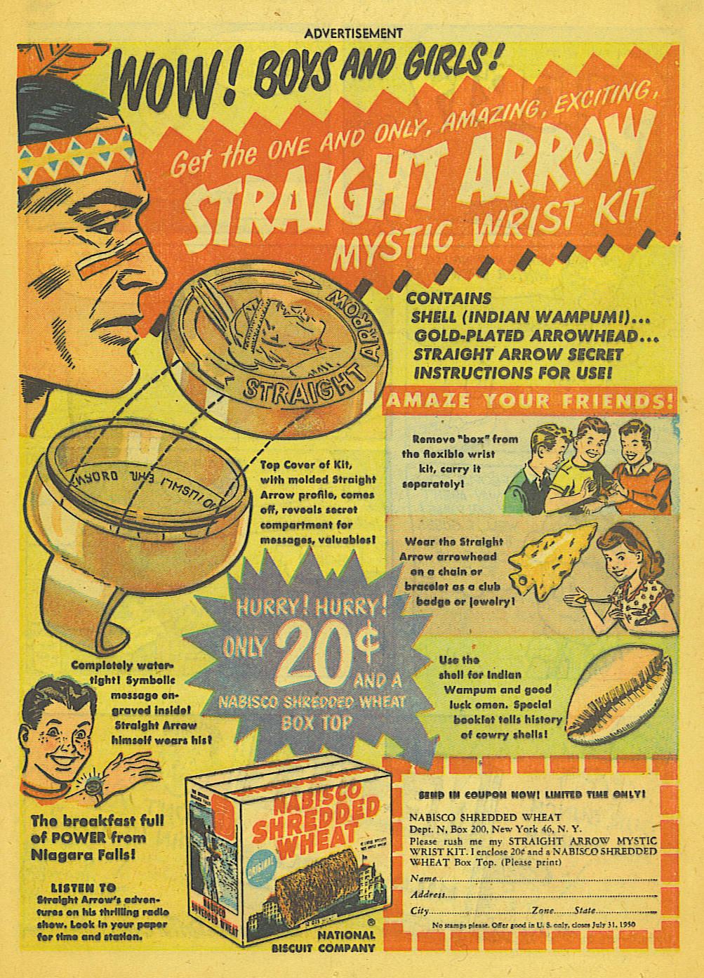 Read online Adventure Comics (1938) comic -  Issue #153 - 34