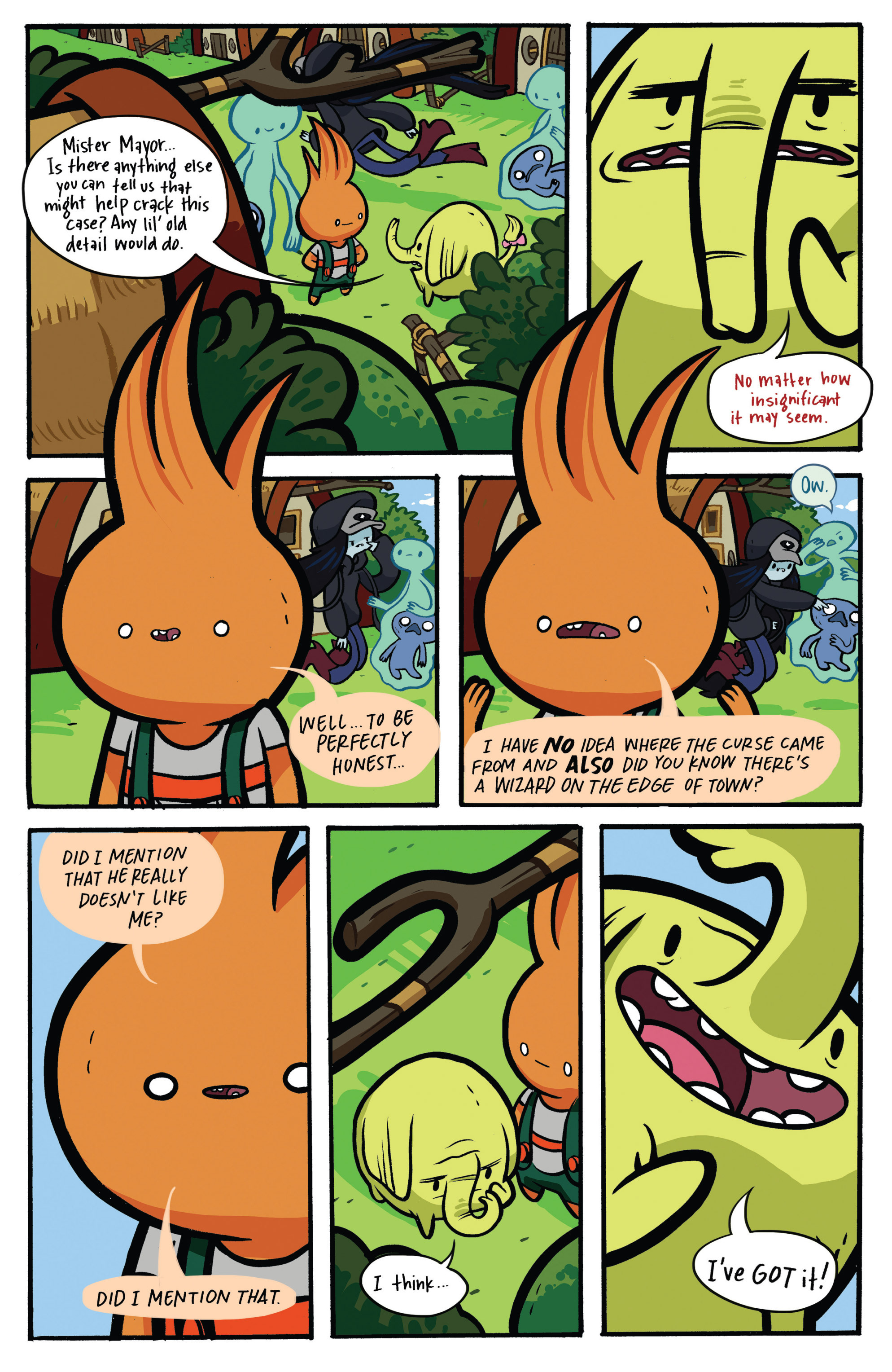 Read online Adventure Time: Candy Capers comic -  Issue #2 - 16