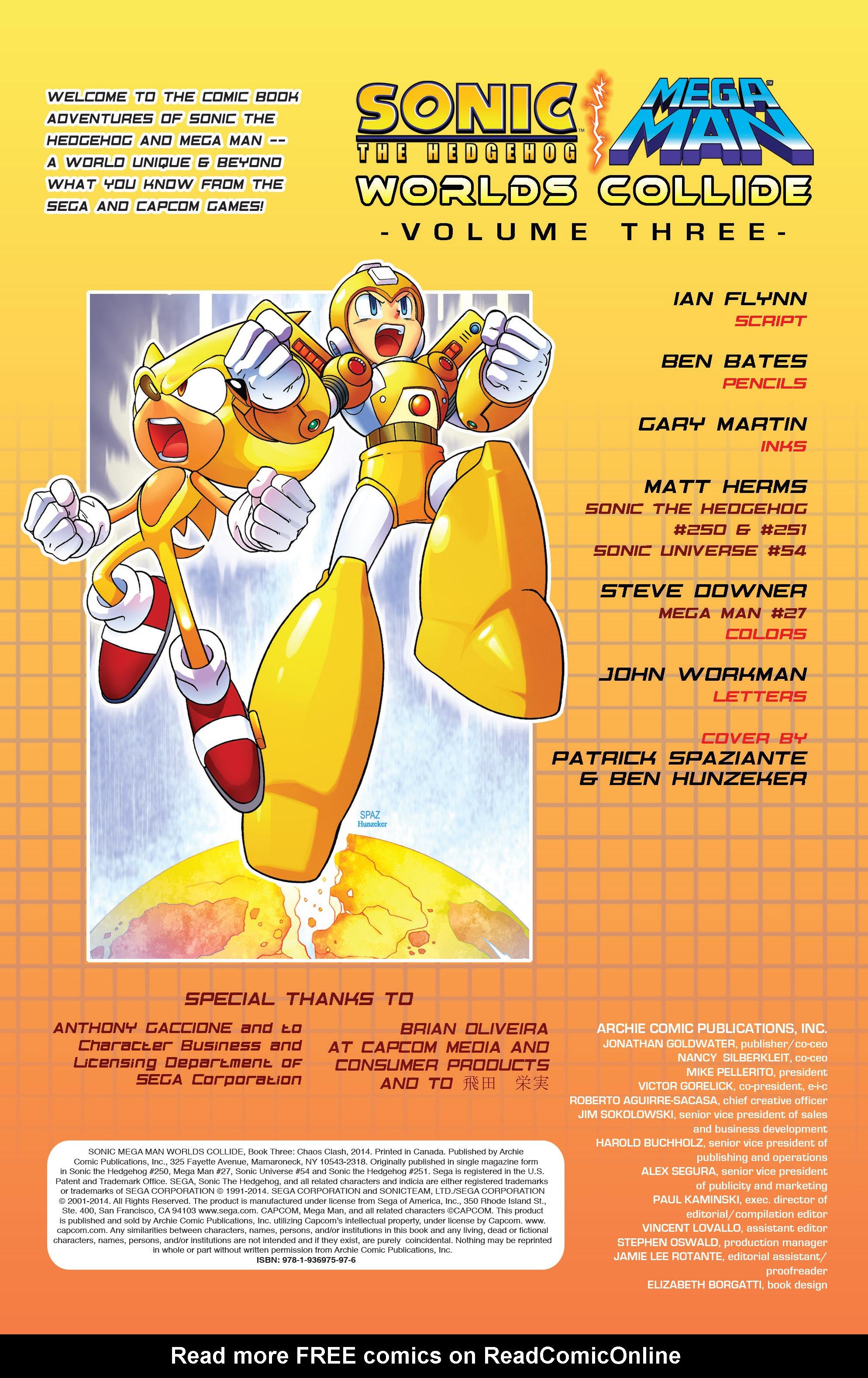 Read online Sonic Mega Man Worlds Collide comic -  Issue # Vol 3 - 2