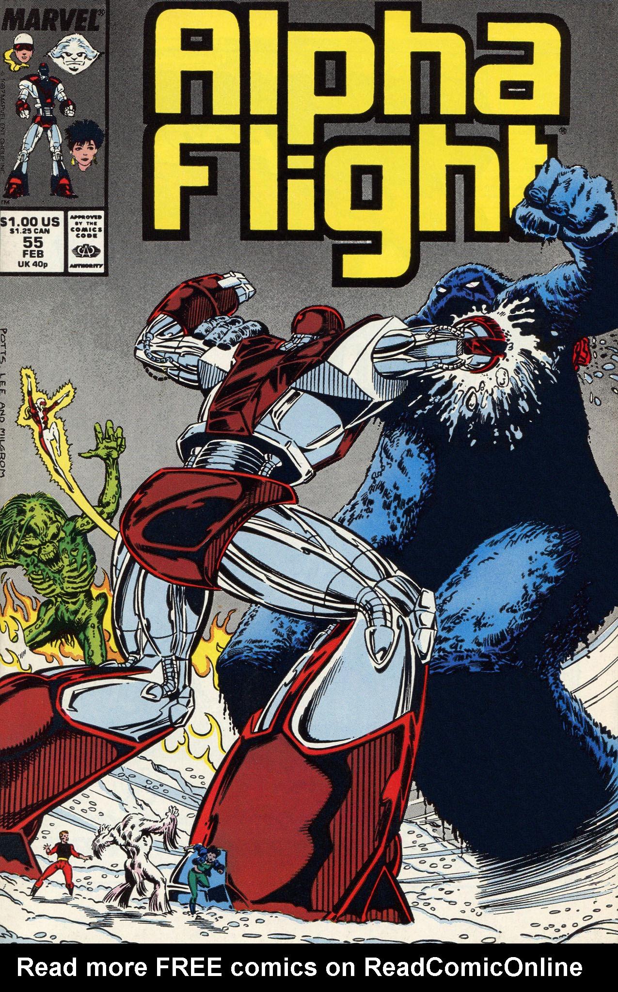 Alpha Flight (1983) 55 Page 1