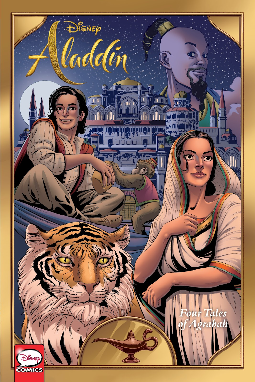 Disney Aladdin: Four Tales of Agrabah TPB Page 1