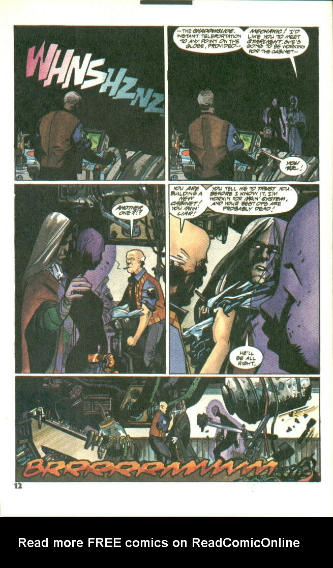 Read online Shadow Cabinet comic -  Issue #8 - 10