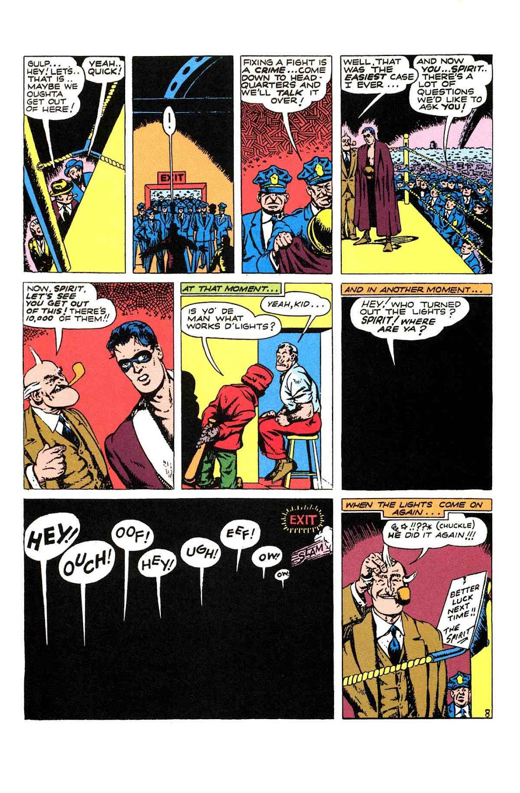 Read online Will Eisner's The Spirit Archives comic -  Issue # TPB 2 (Part 1) - 96