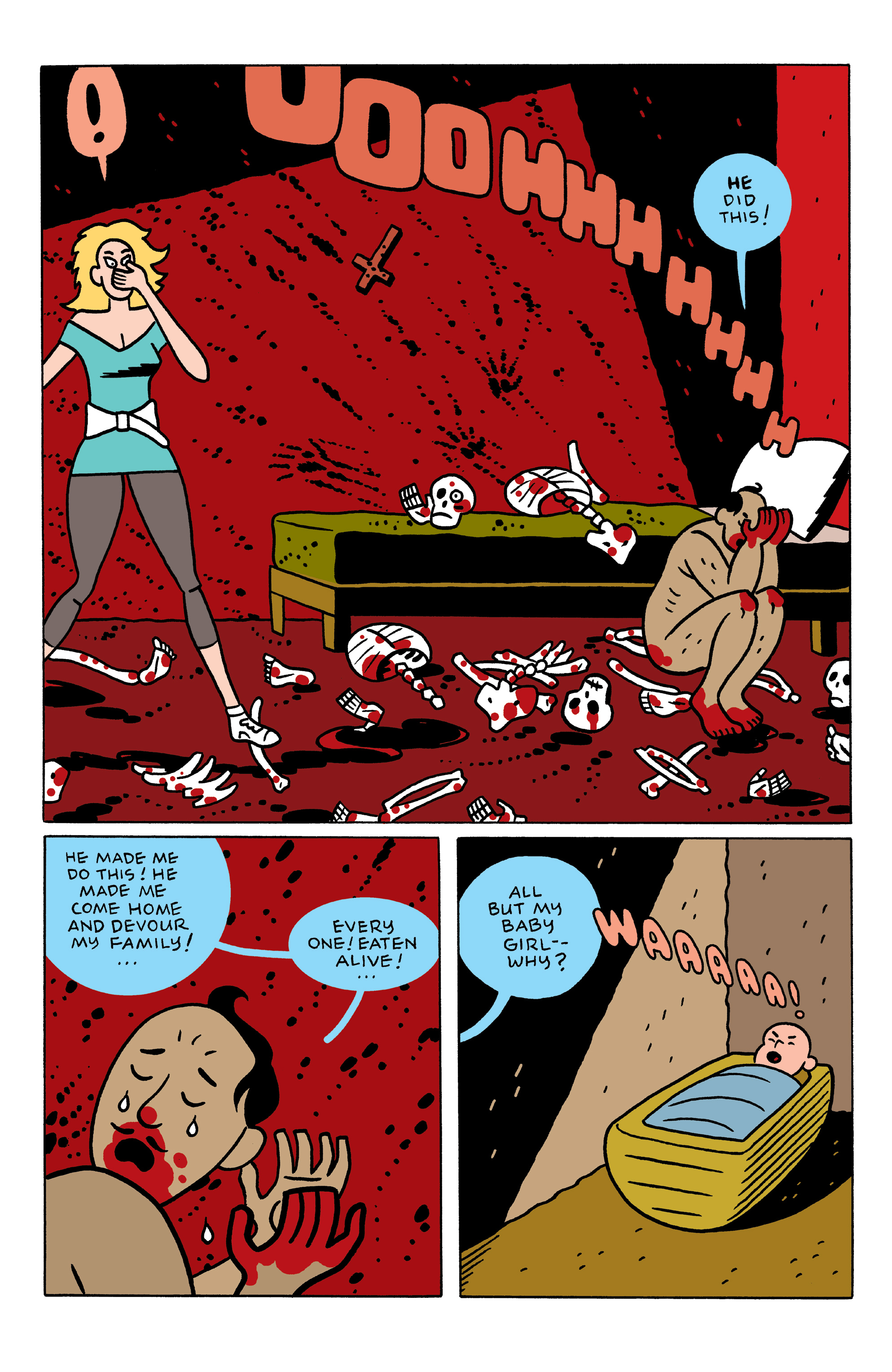Read online She Wolf comic -  Issue #3 - 14