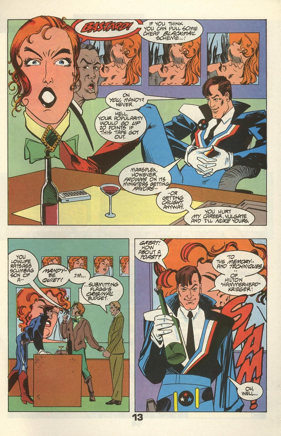 Read online American Flagg! comic -  Issue #34 - 17