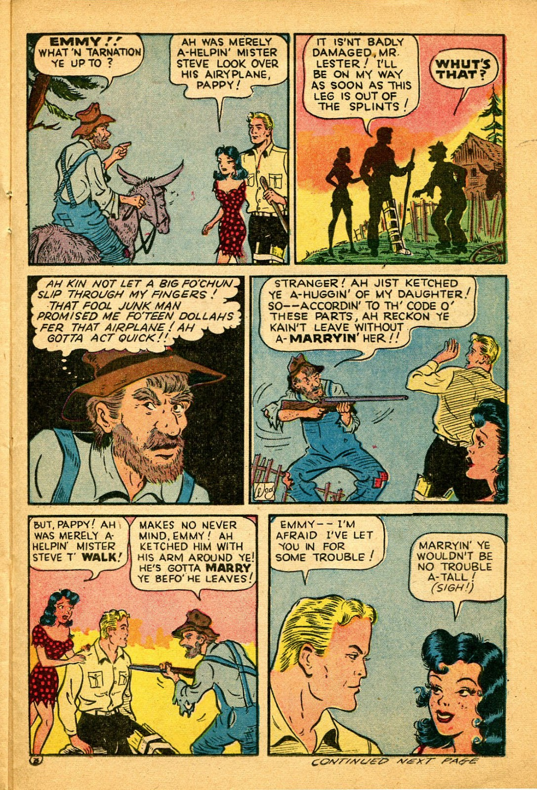 Read online Famous Funnies comic -  Issue #134 - 23