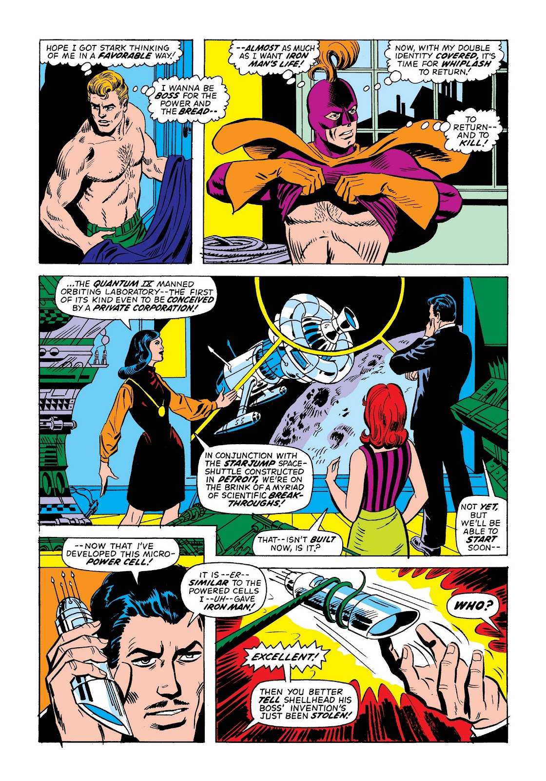 Read online Marvel Masterworks: The Invincible Iron Man comic -  Issue # TPB 9 (Part 2) - 81