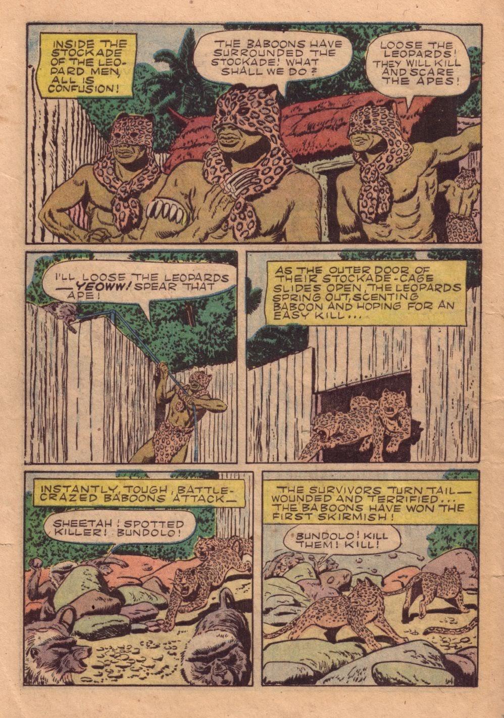 Tarzan (1948) issue 40 - Page 36