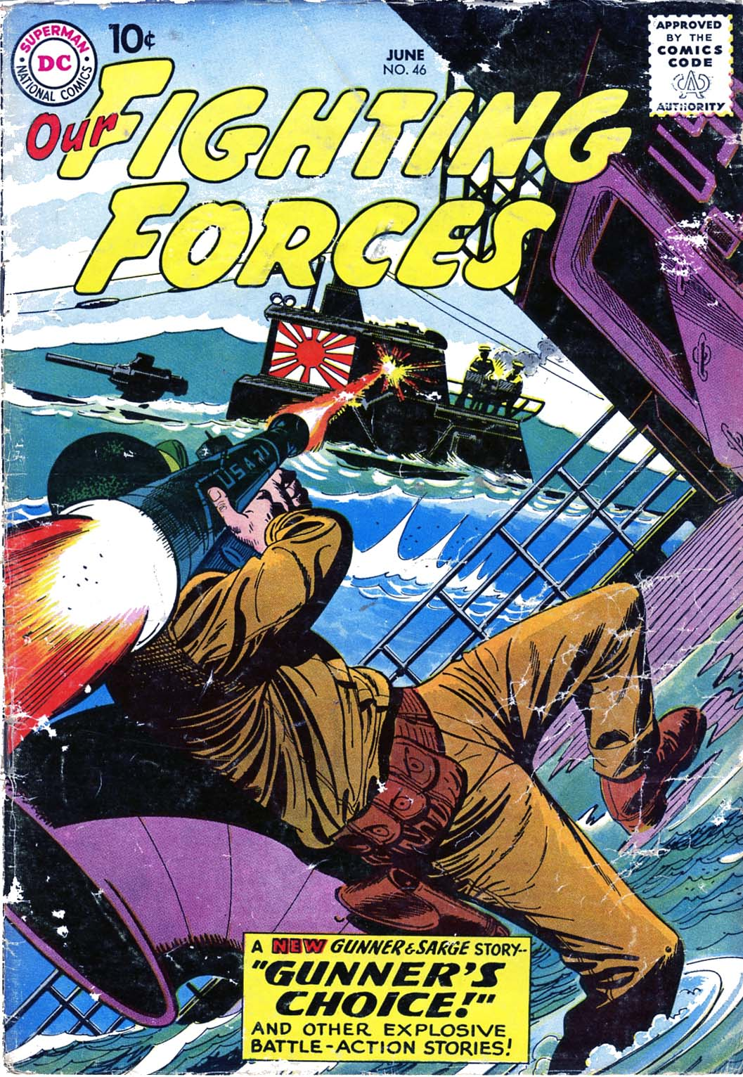 Our Fighting Forces (1954) issue 46 - Page 1