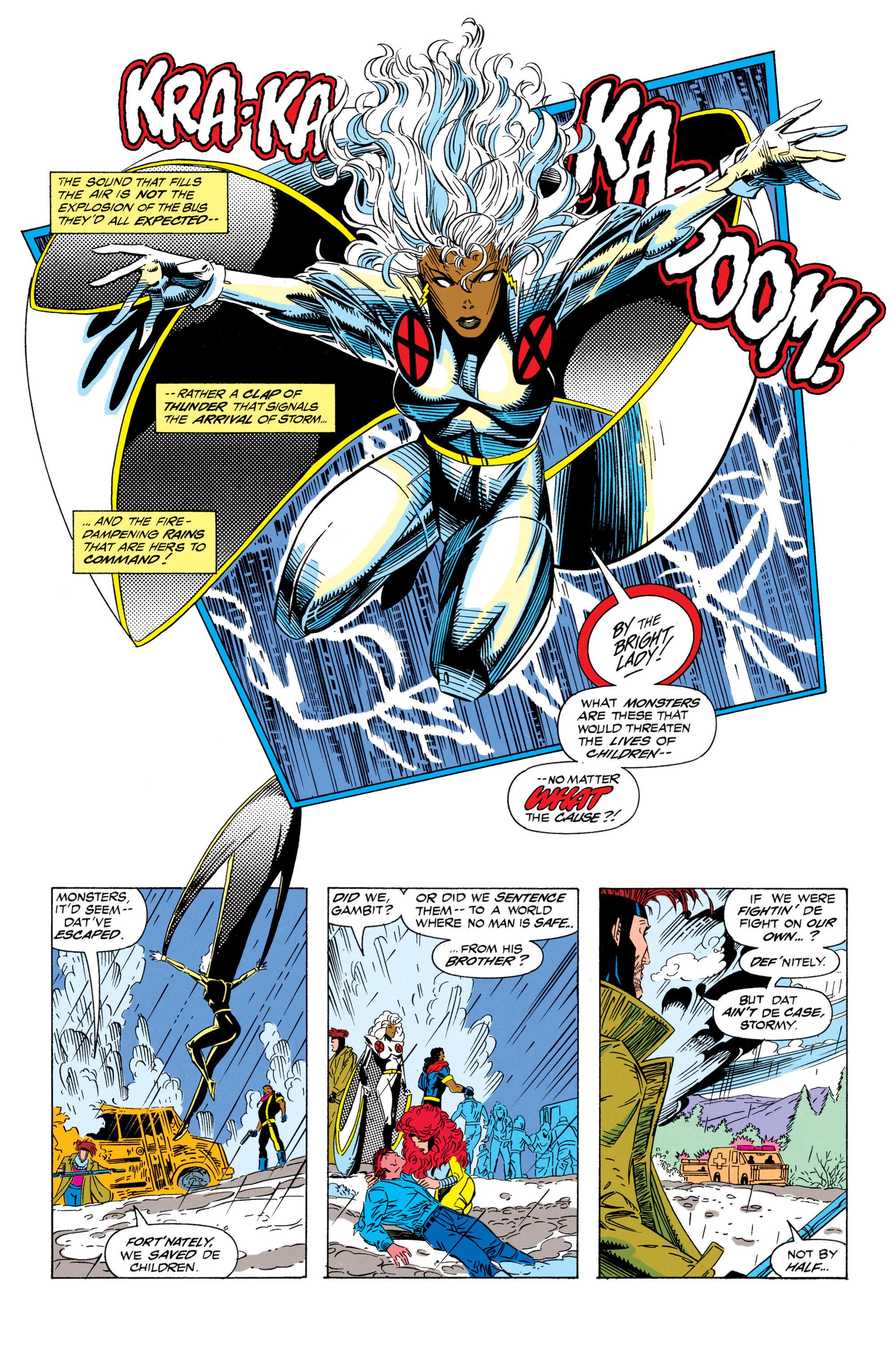 Read online Uncanny X-Men (1963) comic -  Issue #298 - 21