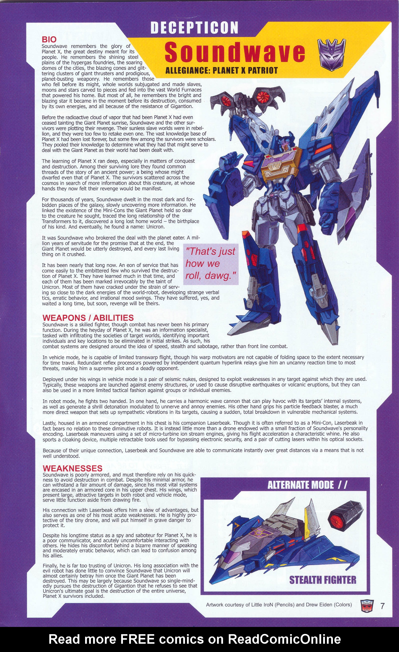Read online Transformers: Collectors' Club comic -  Issue #9 - 7