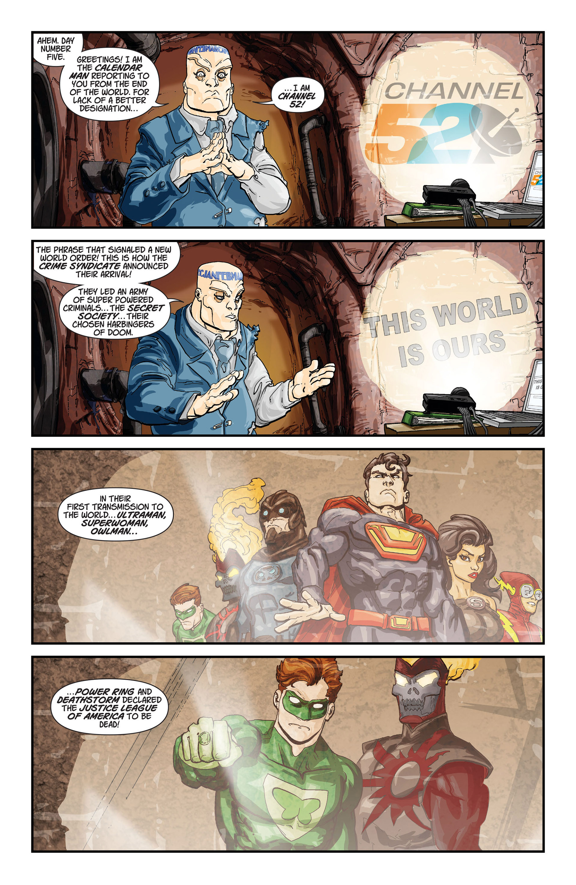 Read online Batman and Robin (2011) comic -  Issue #23.4 - 22