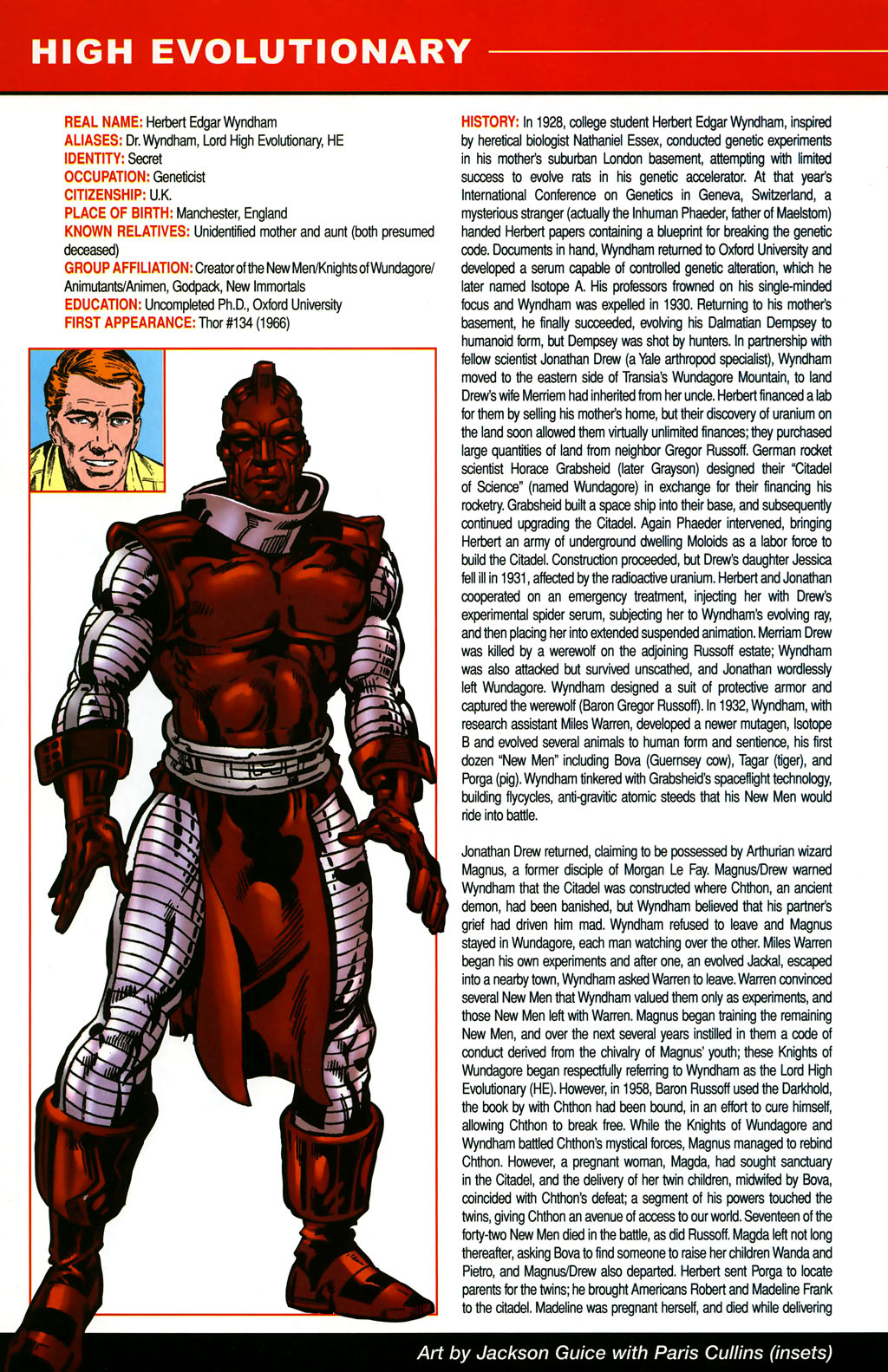 Read online All-New Official Handbook of the Marvel Universe A to Z comic -  Issue #5 - 26