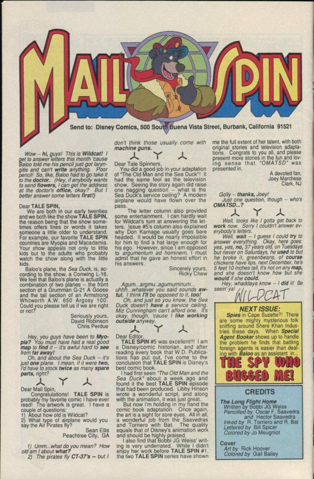 Read online Disney's Tale Spin comic -  Issue #7 - 30