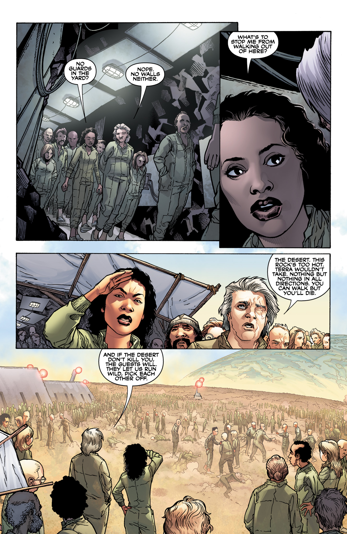 Read online Serenity: Firefly Class 03-K64  Leaves on the Wind comic -  Issue #4 - 12