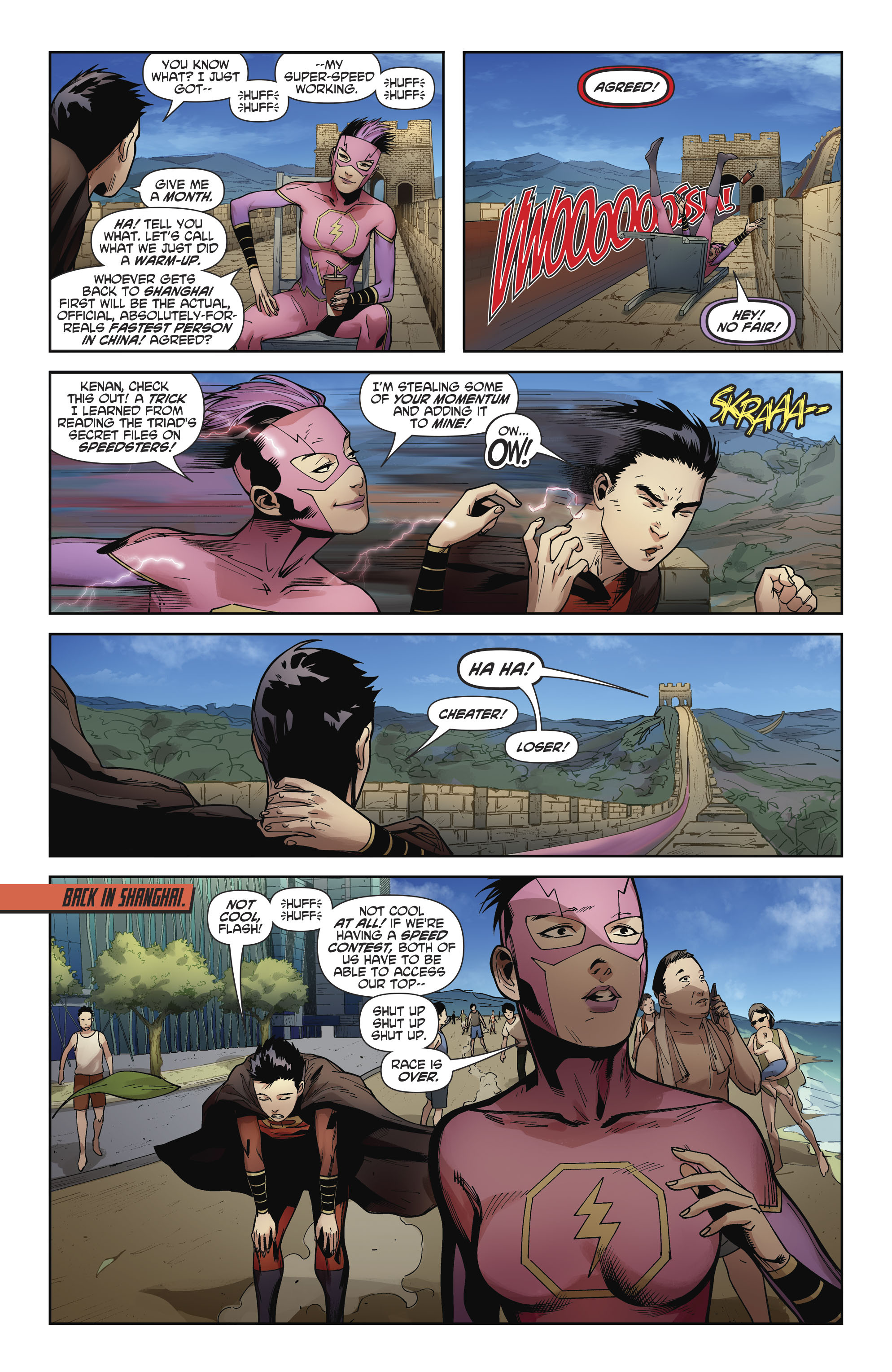 Read online New Super-Man comic -  Issue #11 - 13
