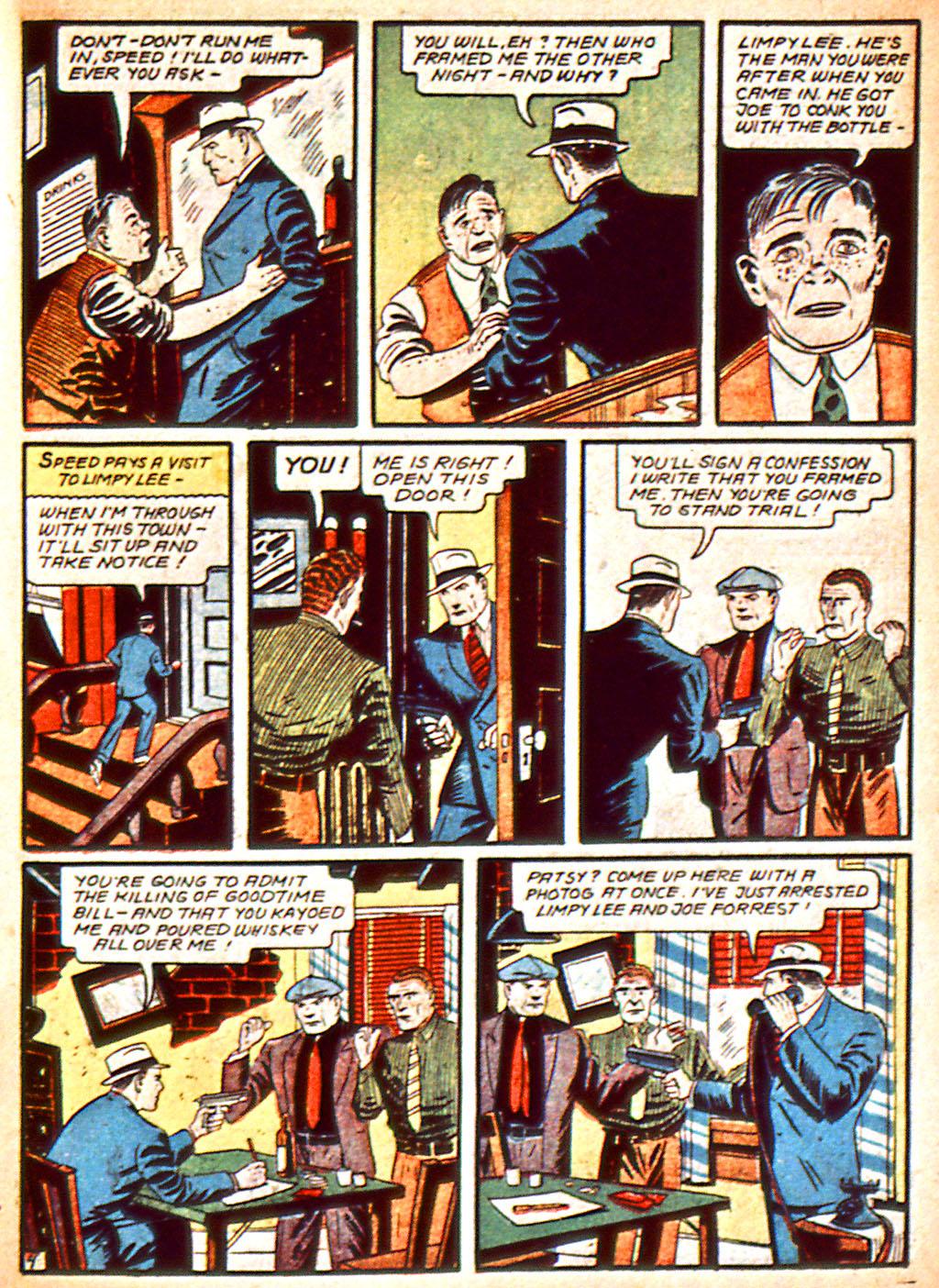 Read online Detective Comics (1937) comic -  Issue #37 - 40