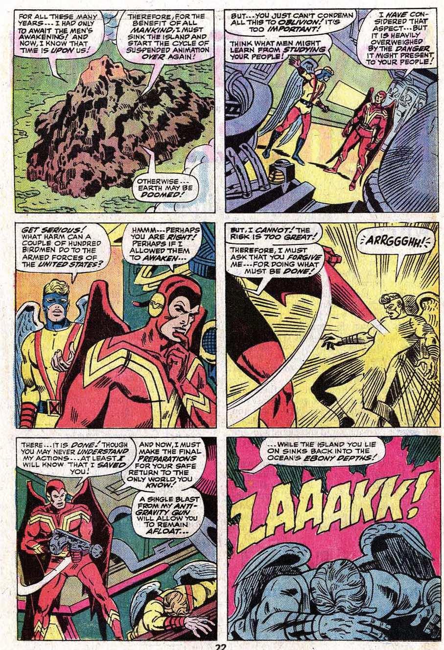 Read online Uncanny X-Men (1963) comic -  Issue #92 - 23