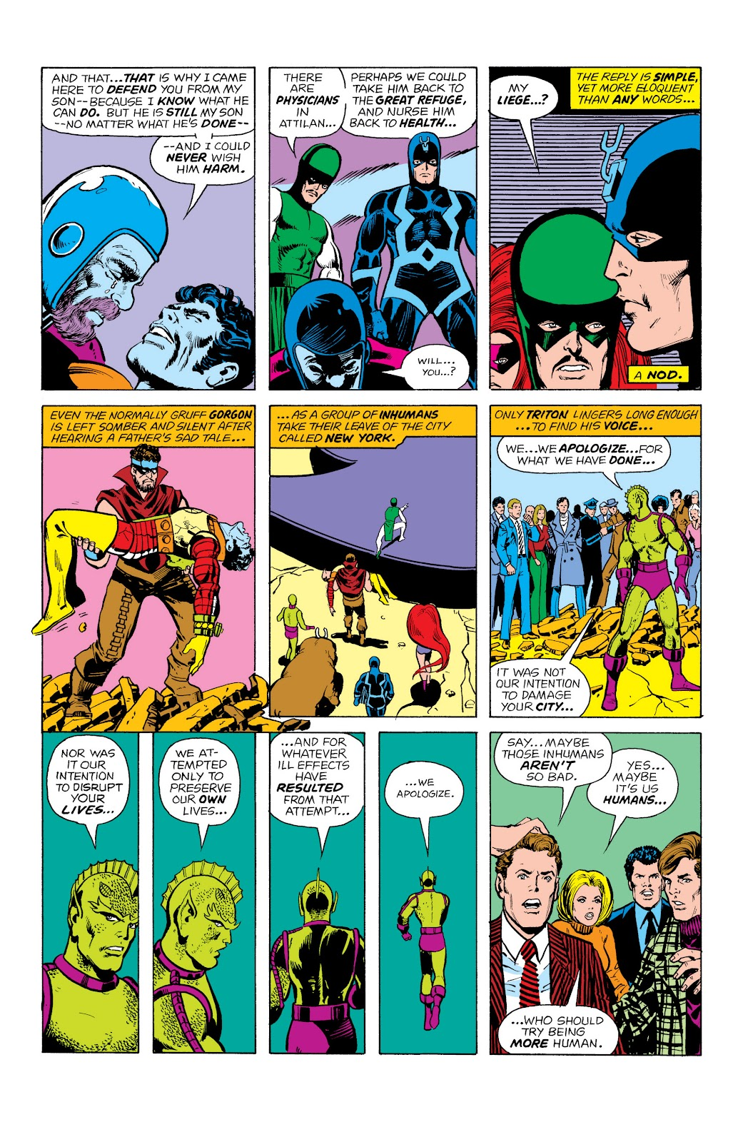 Read online Marvel Masterworks: The Inhumans comic -  Issue # TPB 2 (Part 1) - 78