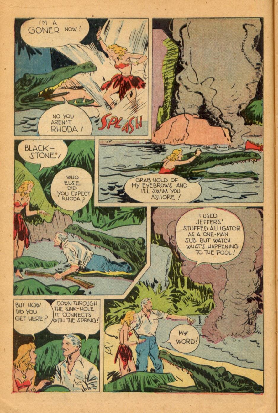 Read online Super-Magician Comics comic -  Issue #45 - 14