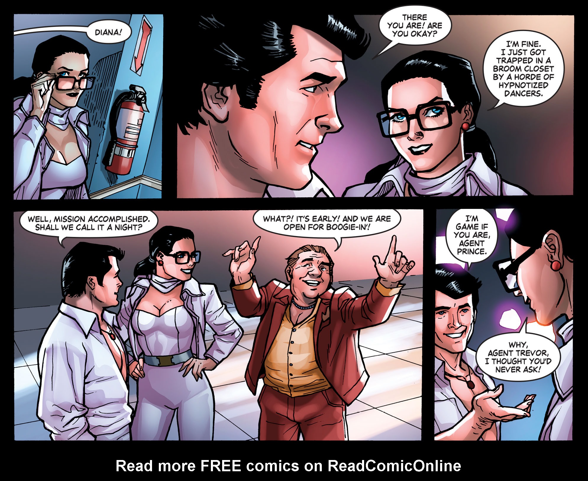 Read online Wonder Woman '77 [I] comic -  Issue #3 - 21