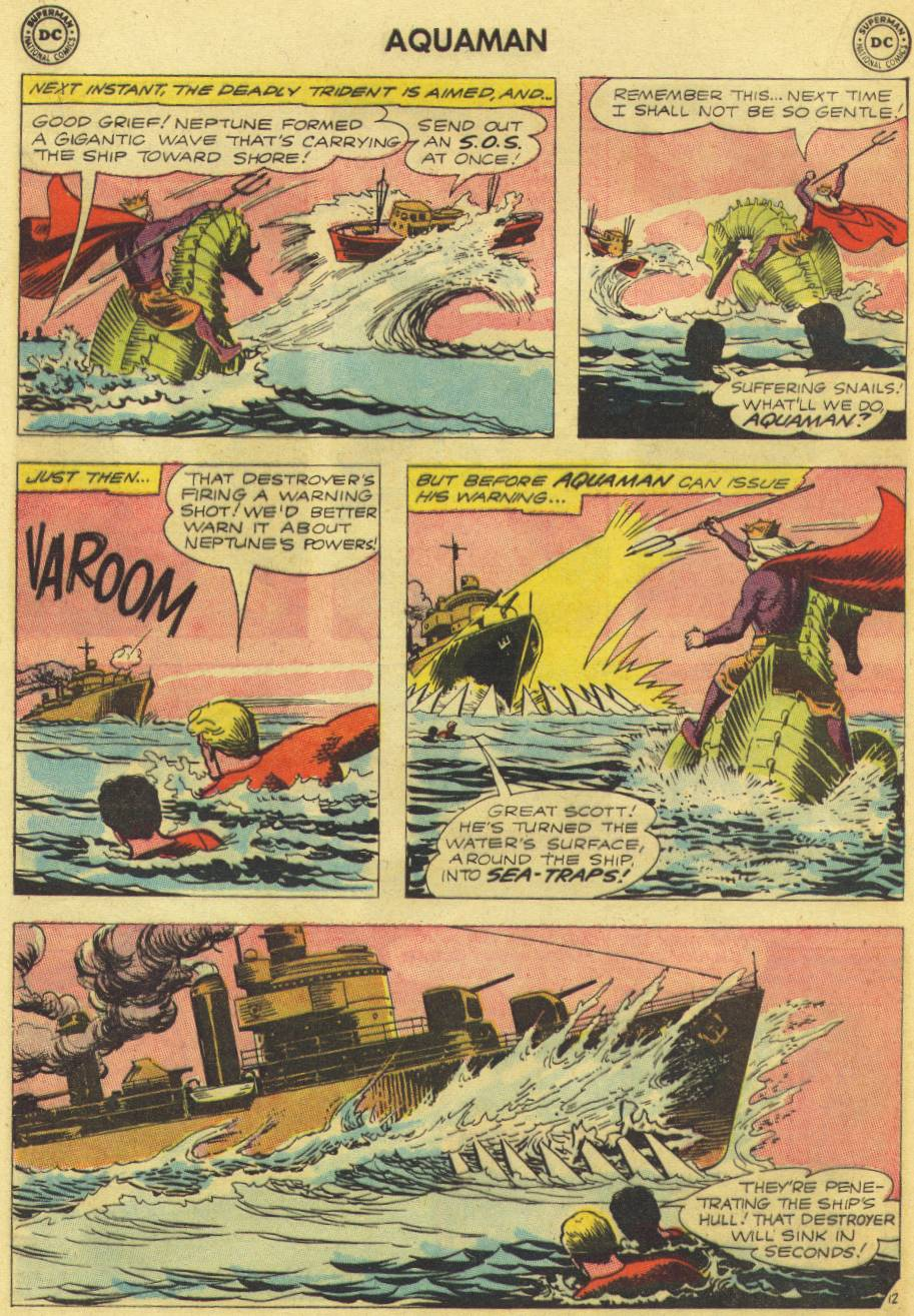 Read online Aquaman (1962) comic -  Issue #9 - 16