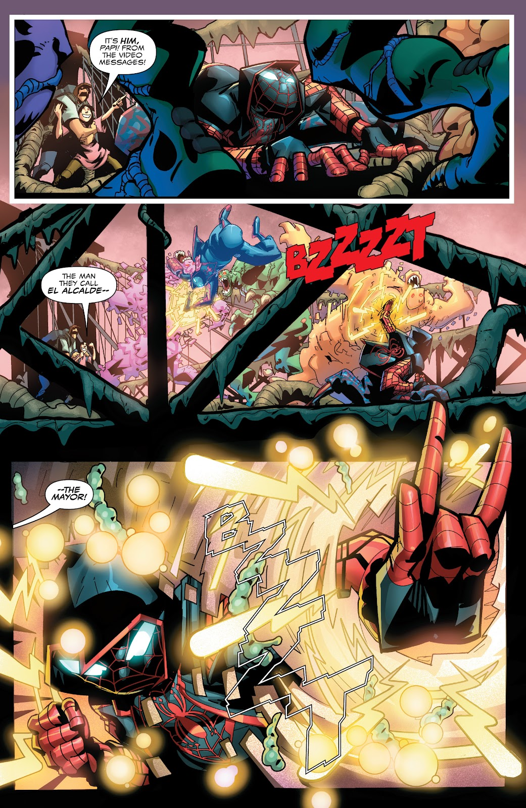 Read online Miles Morales: The End comic -  Issue # Full - 5