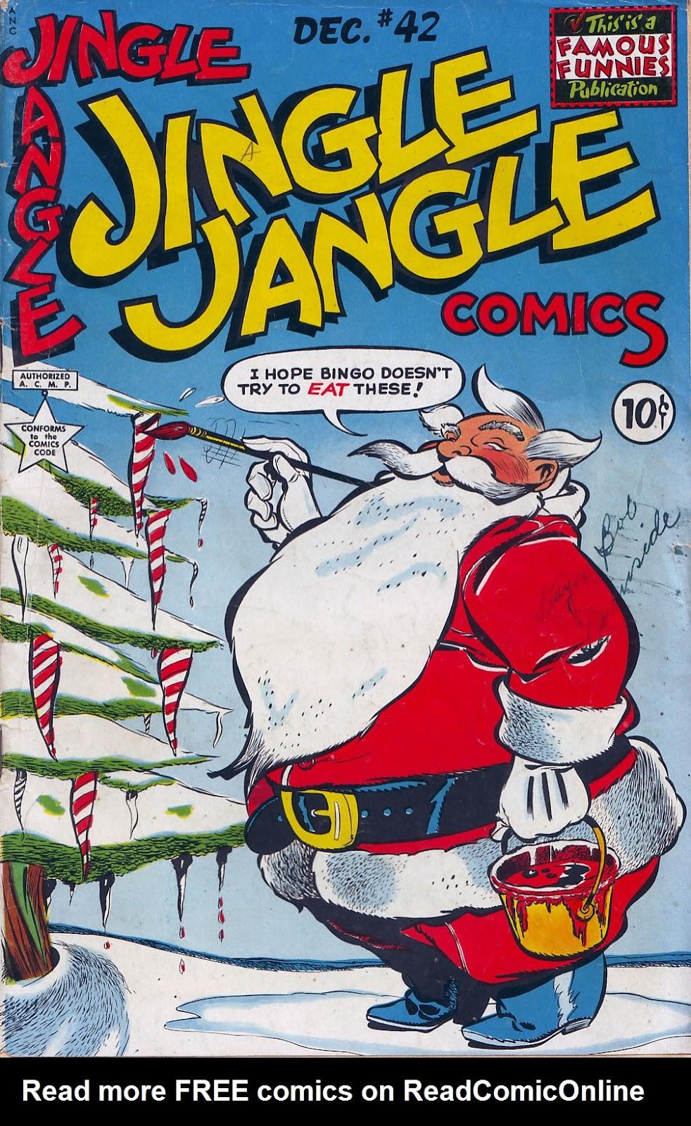 Jingle Jangle Comics 42 Page 1
