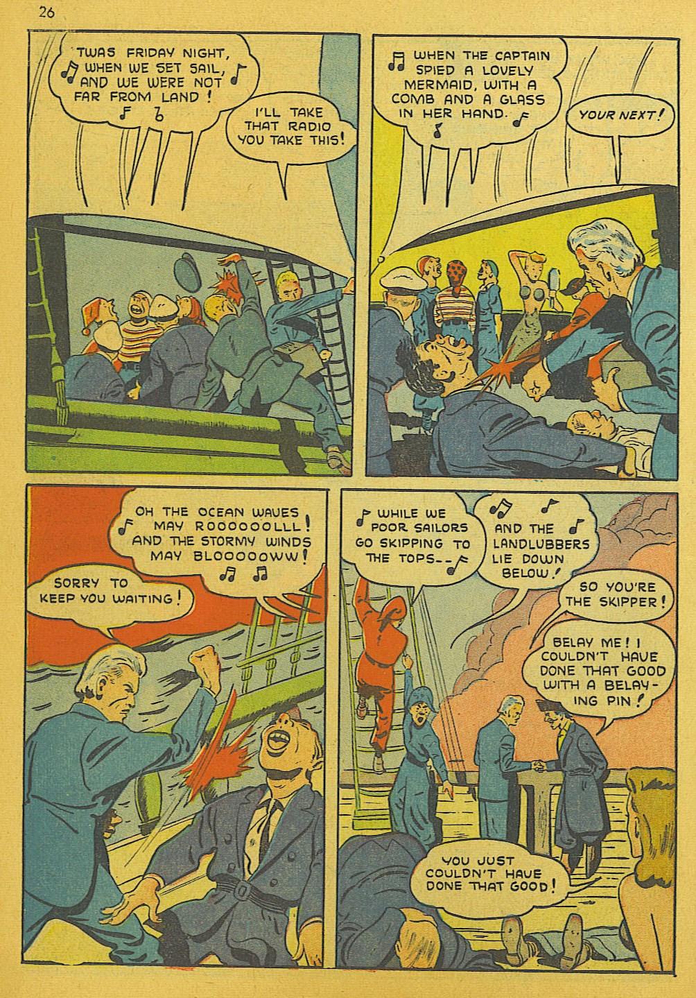 Read online Super-Magician Comics comic -  Issue #10 - 26
