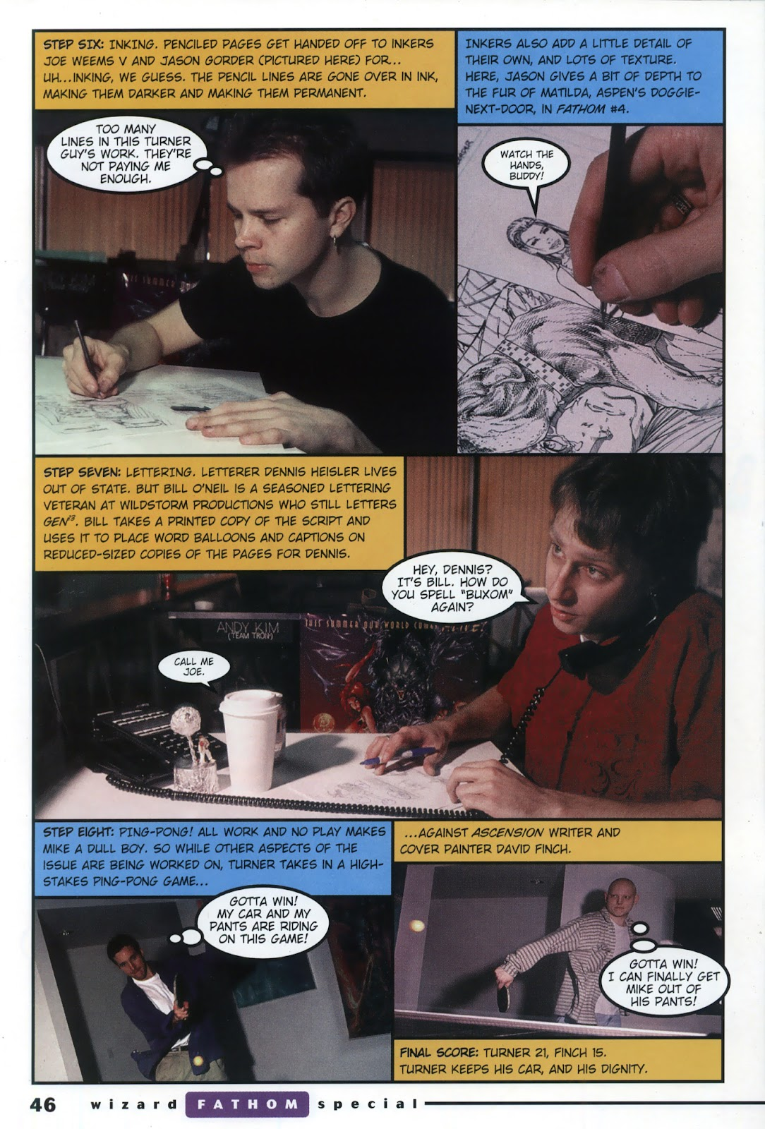 Read online Fathom Special comic -  Issue # Full - 34
