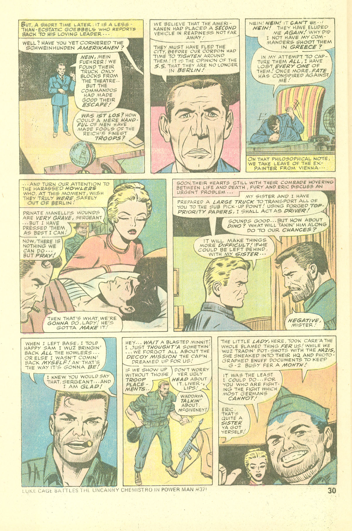 Read online Sgt. Fury comic -  Issue #137 - 32