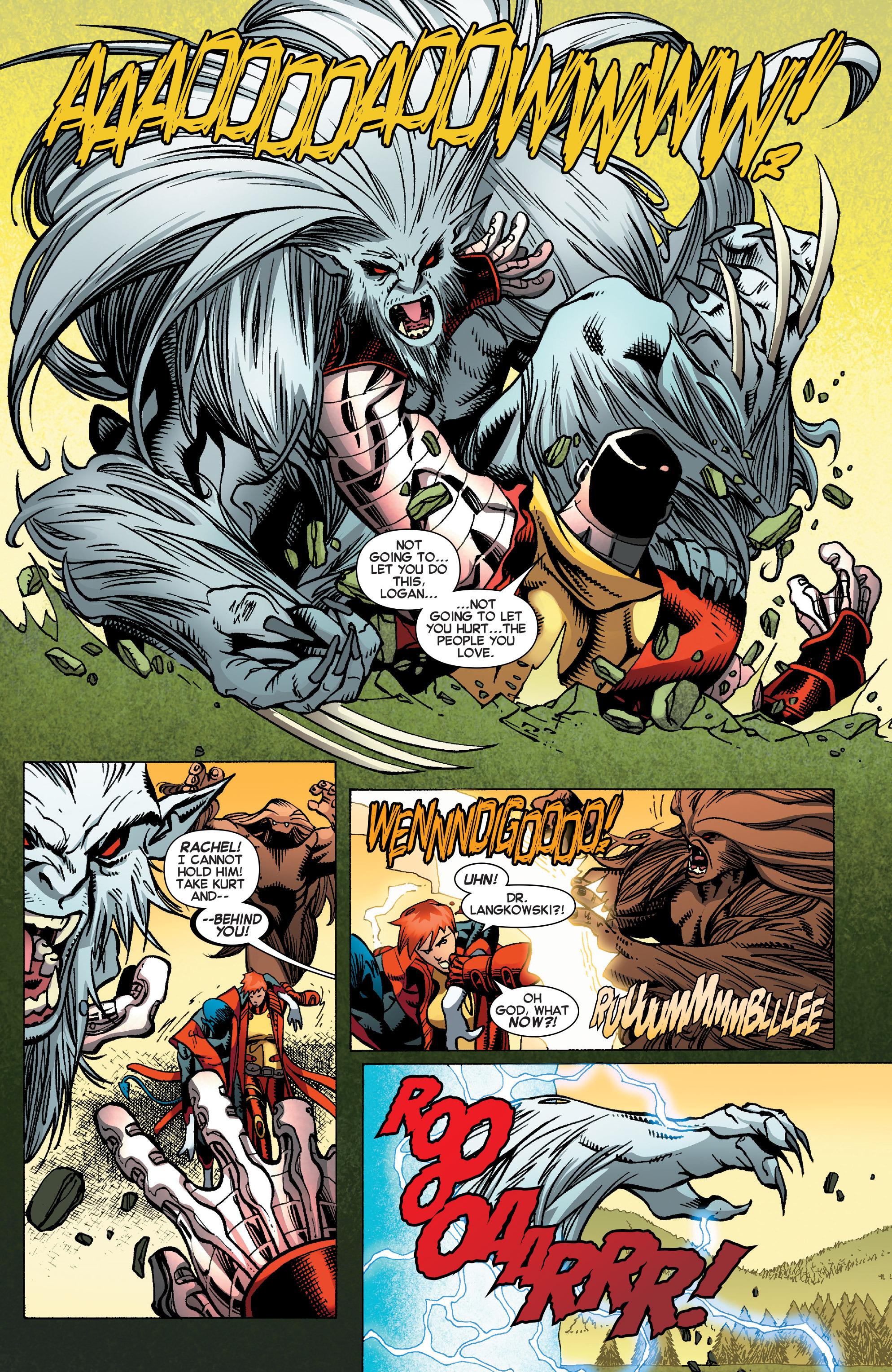 Read online Amazing X-Men (2014) comic -  Issue #12 - 13