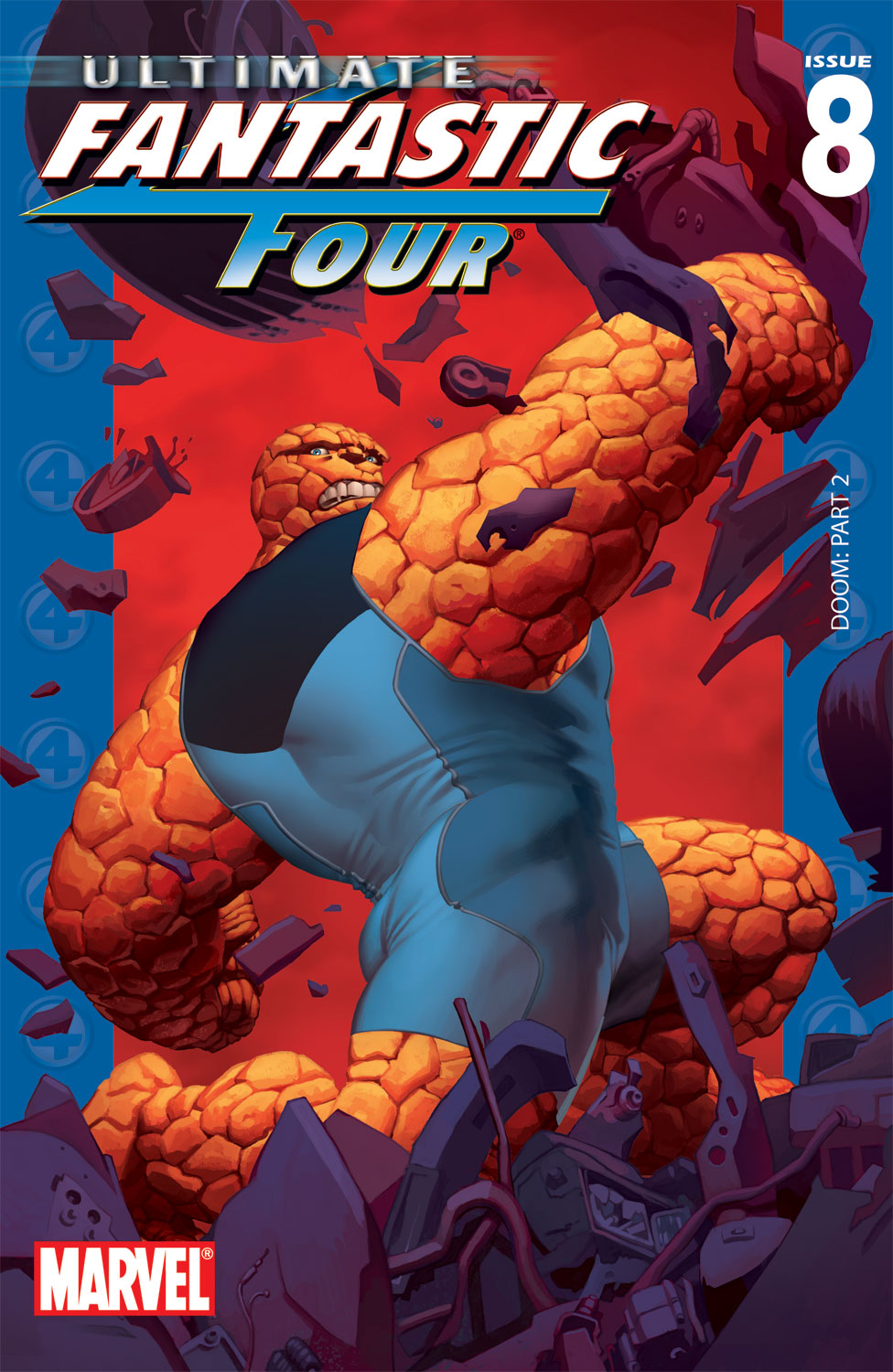 Read online Ultimate Fantastic Four (2004) comic -  Issue #8 - 1